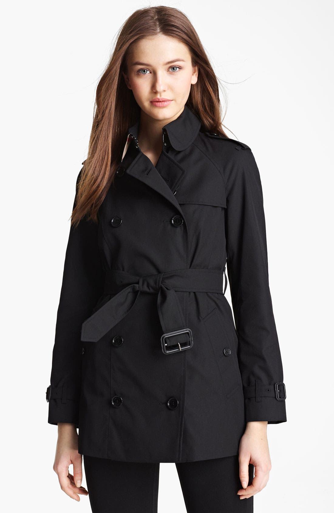 Main Image - Burberry Brit 'Mottram' Poplin Trench