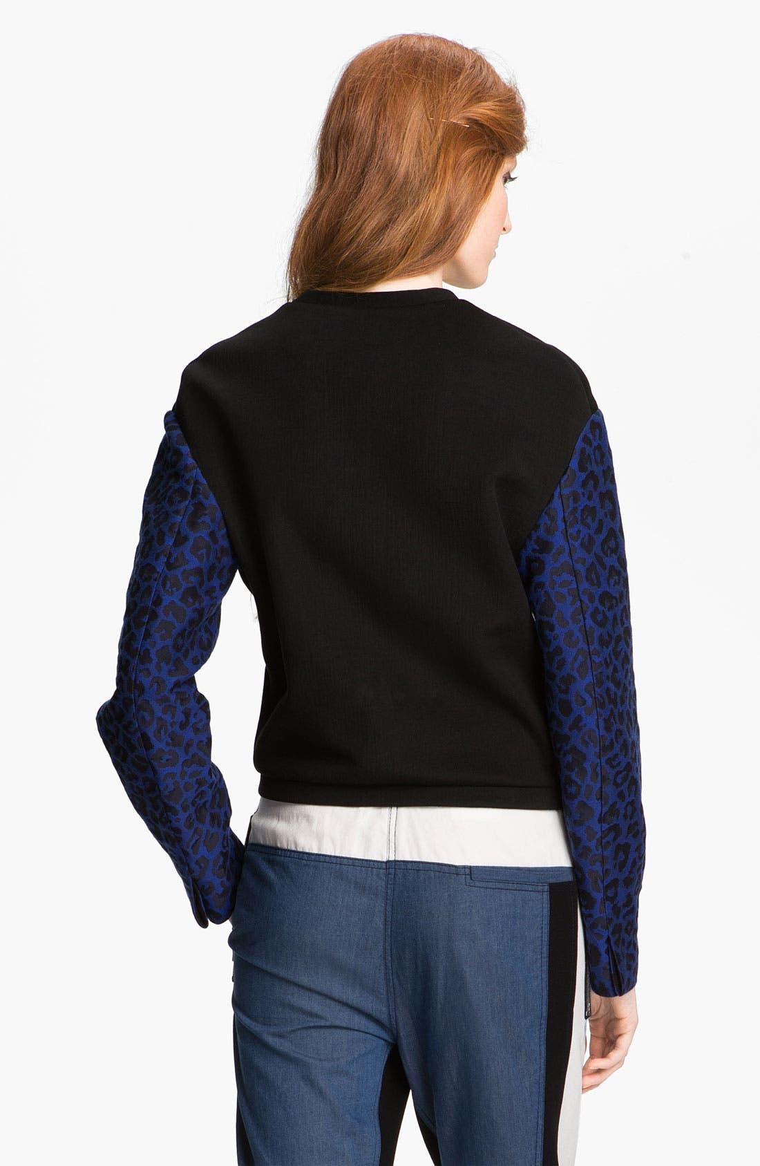 Alternate Image 2  - 3.1 Phillip Lim Print Sleeve Sweatshirt