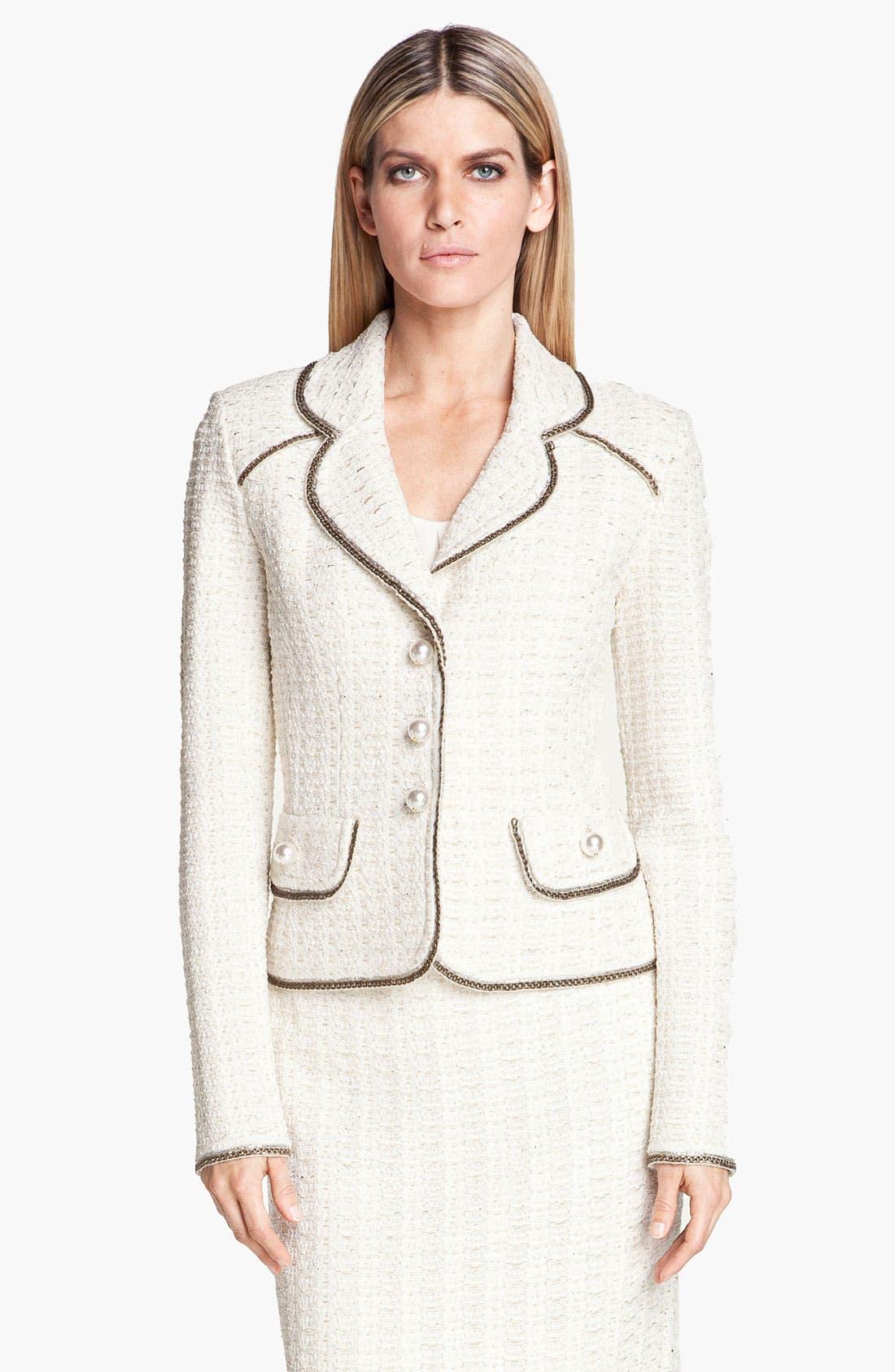 Alternate Image 1 Selected - St. John Collection Belgravia Tweed Jacket