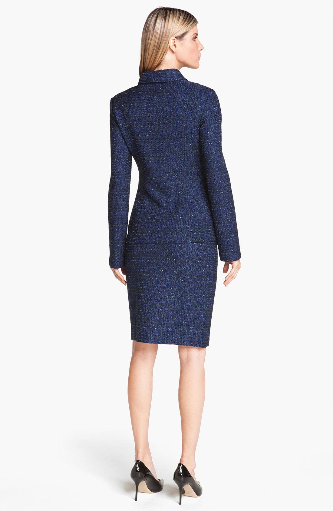Alternate Image 3  - St. John Collection Tweed Knit Pencil Skirt