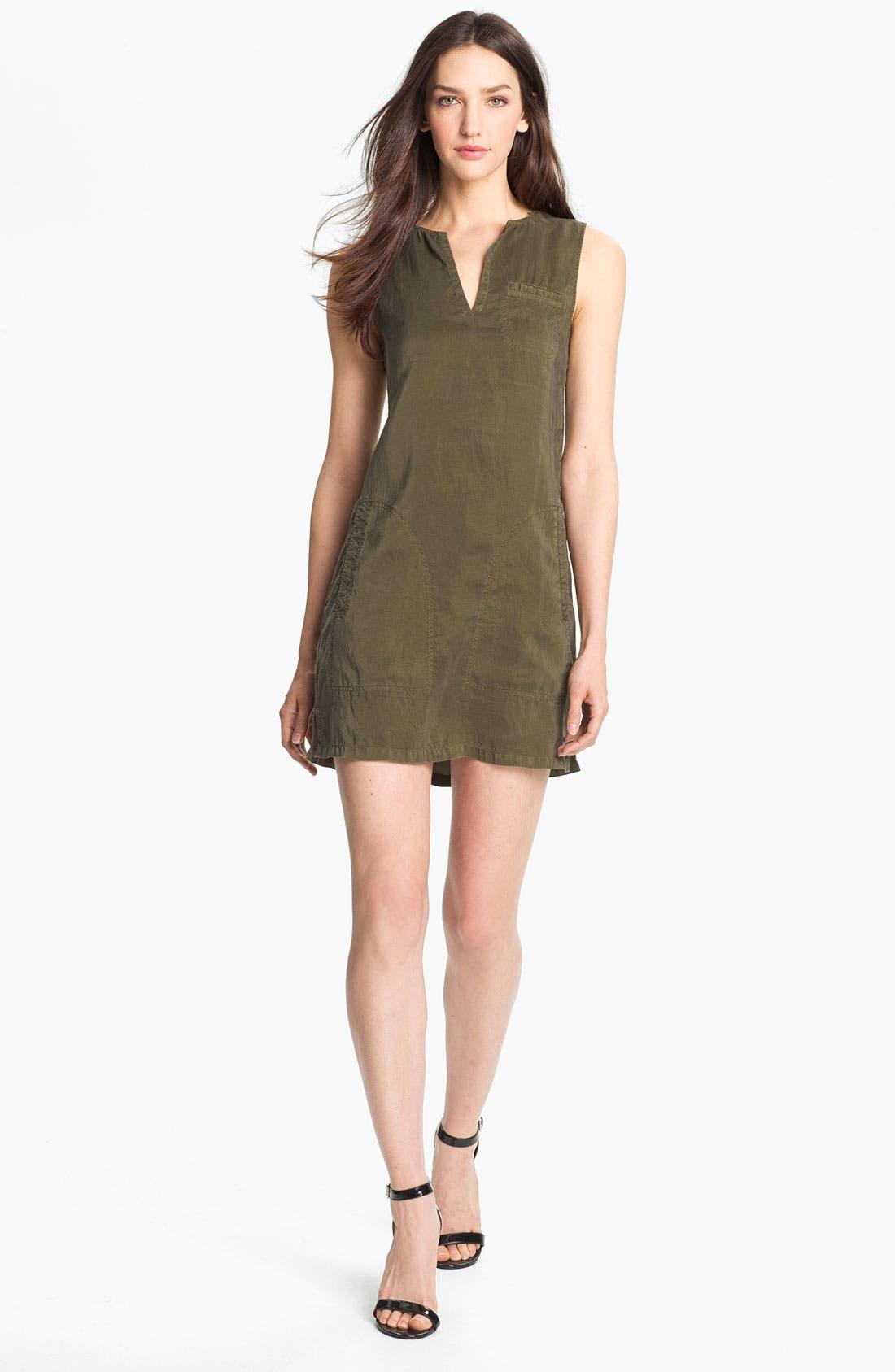 Main Image - Theory 'Wandu' Silk Shift Dress