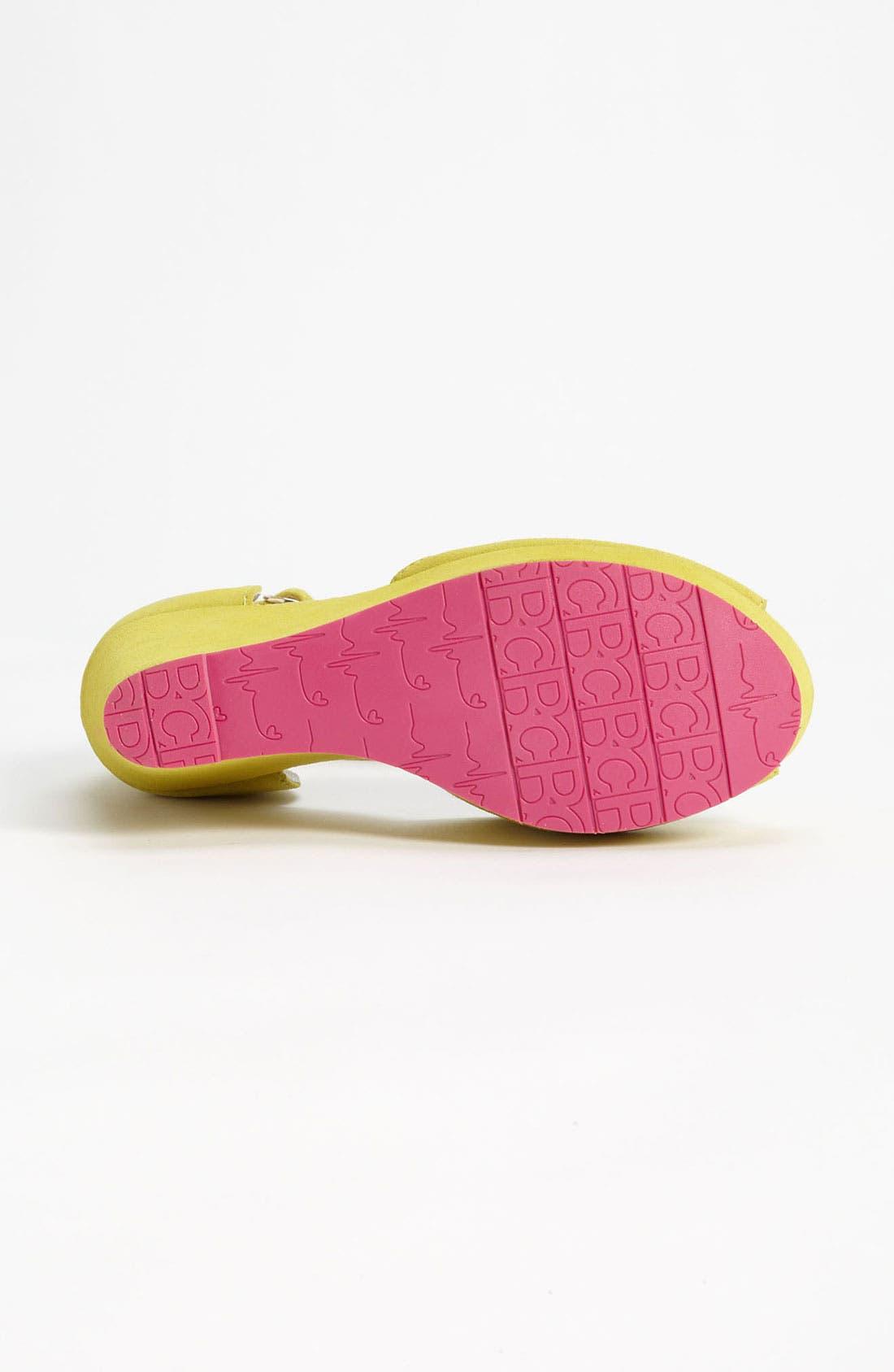 Alternate Image 4  - BC Footwear 'Bright Idea' Wedge Sandal