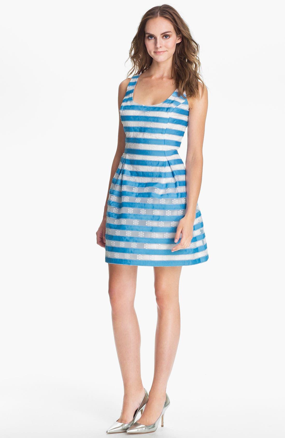 Main Image - Lilly Pulitzer® 'Joslin' Stripe Fit & Flare Dress