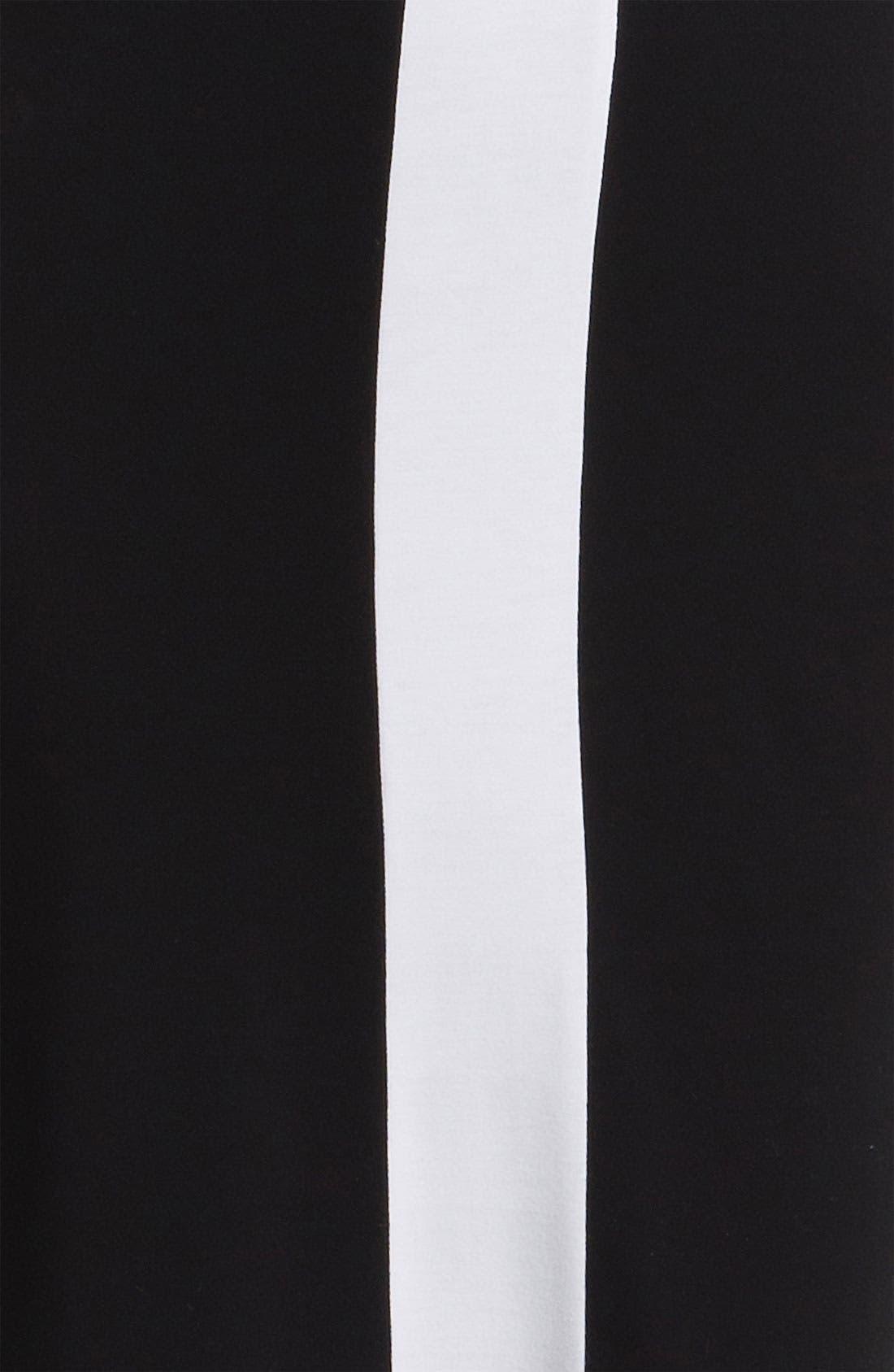 Alternate Image 3  - Karen Kane Sleeveless Contrast Dress
