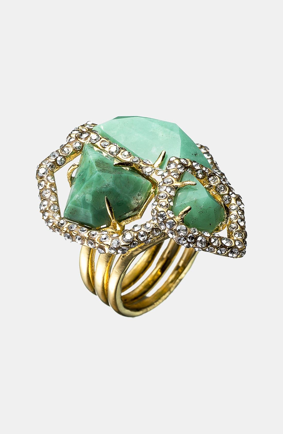Alternate Image 1 Selected - Alexis Bittar 'Miss Havisham - New Wave' Cluster Stone Ring