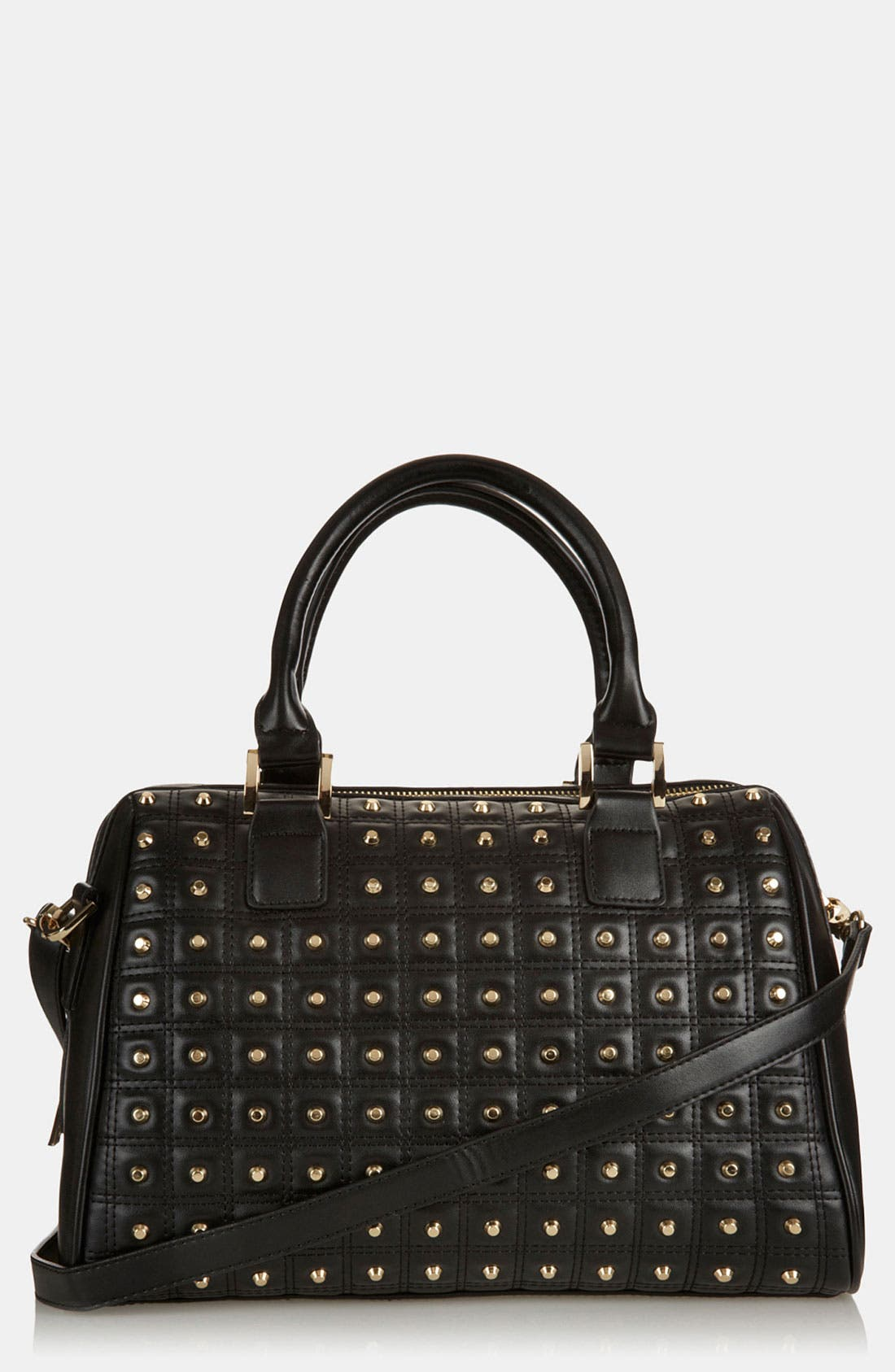 Alternate Image 1 Selected - Topshop 'Studded Lady' Satchel