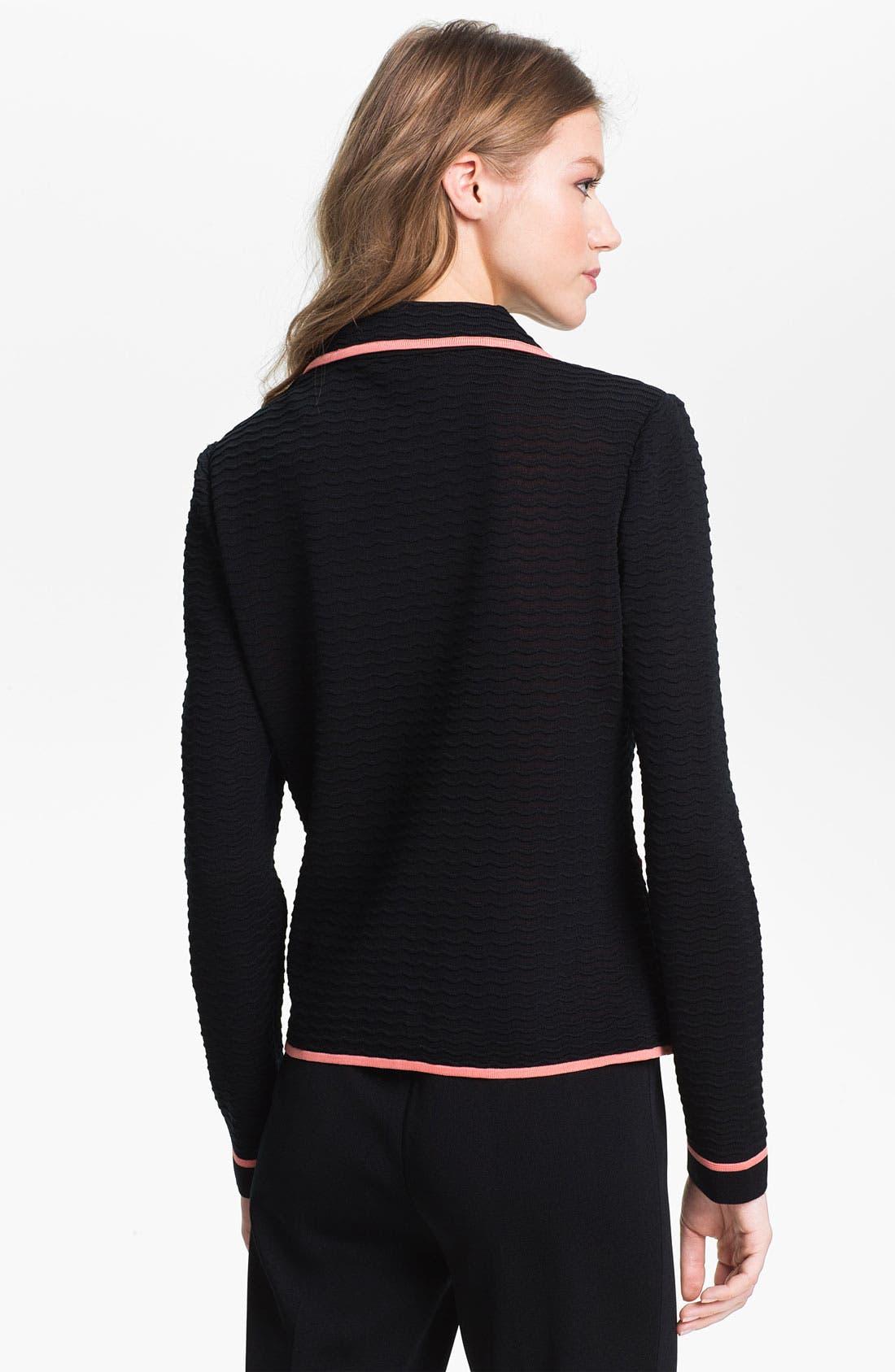 Alternate Image 2  - Ming Wang Zip Front Jacket