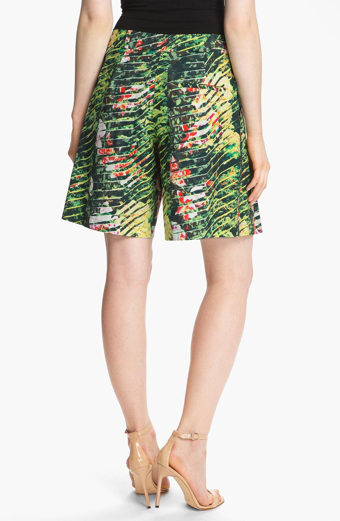 Alternate Image 2  - KENZO Forest Print Poplin Bermuda Shorts