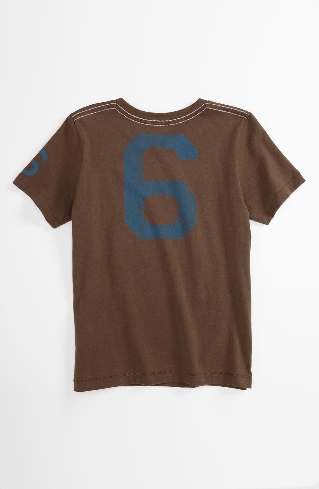 Alternate Image 2  - Peek 'Shortstop' T-Shirt (Toddler, Little Boys & Big Boys)