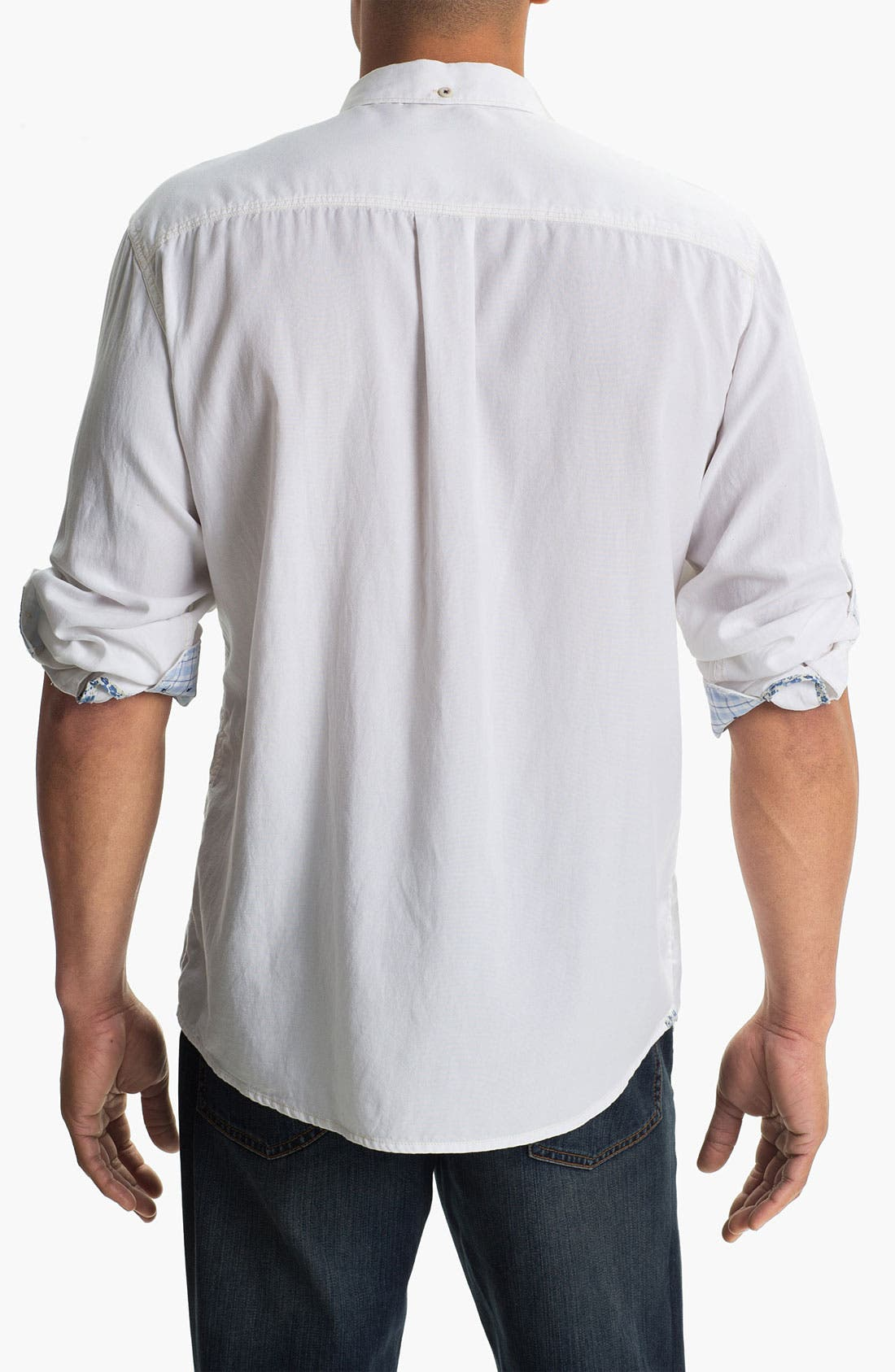 Alternate Image 2  - Tommy Bahama Denim 'Sand City' Island Modern Fit Sport Shirt