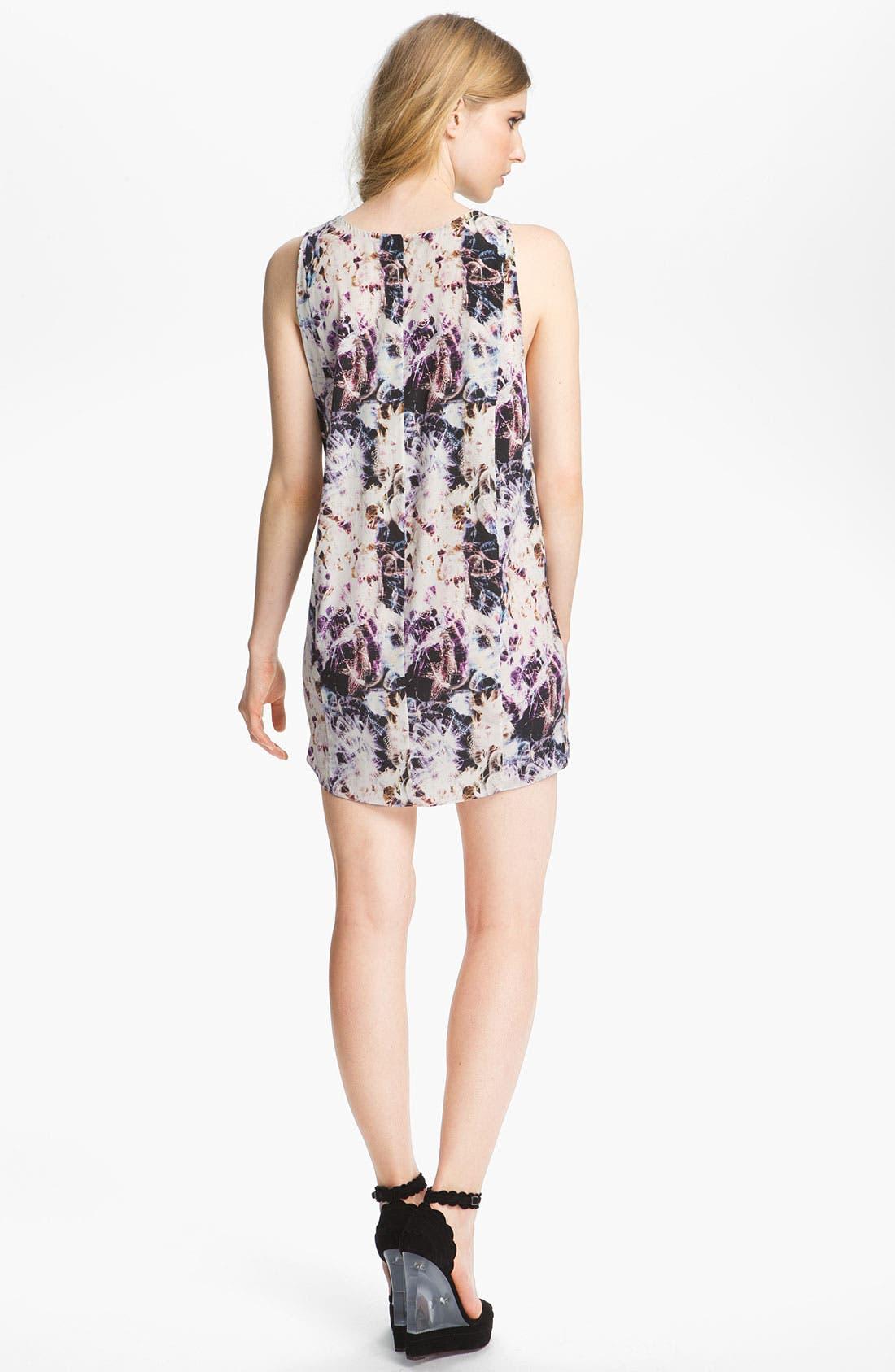 Alternate Image 3  - Theyskens' Theory 'Dorchid Ilight' Print Silk Dress