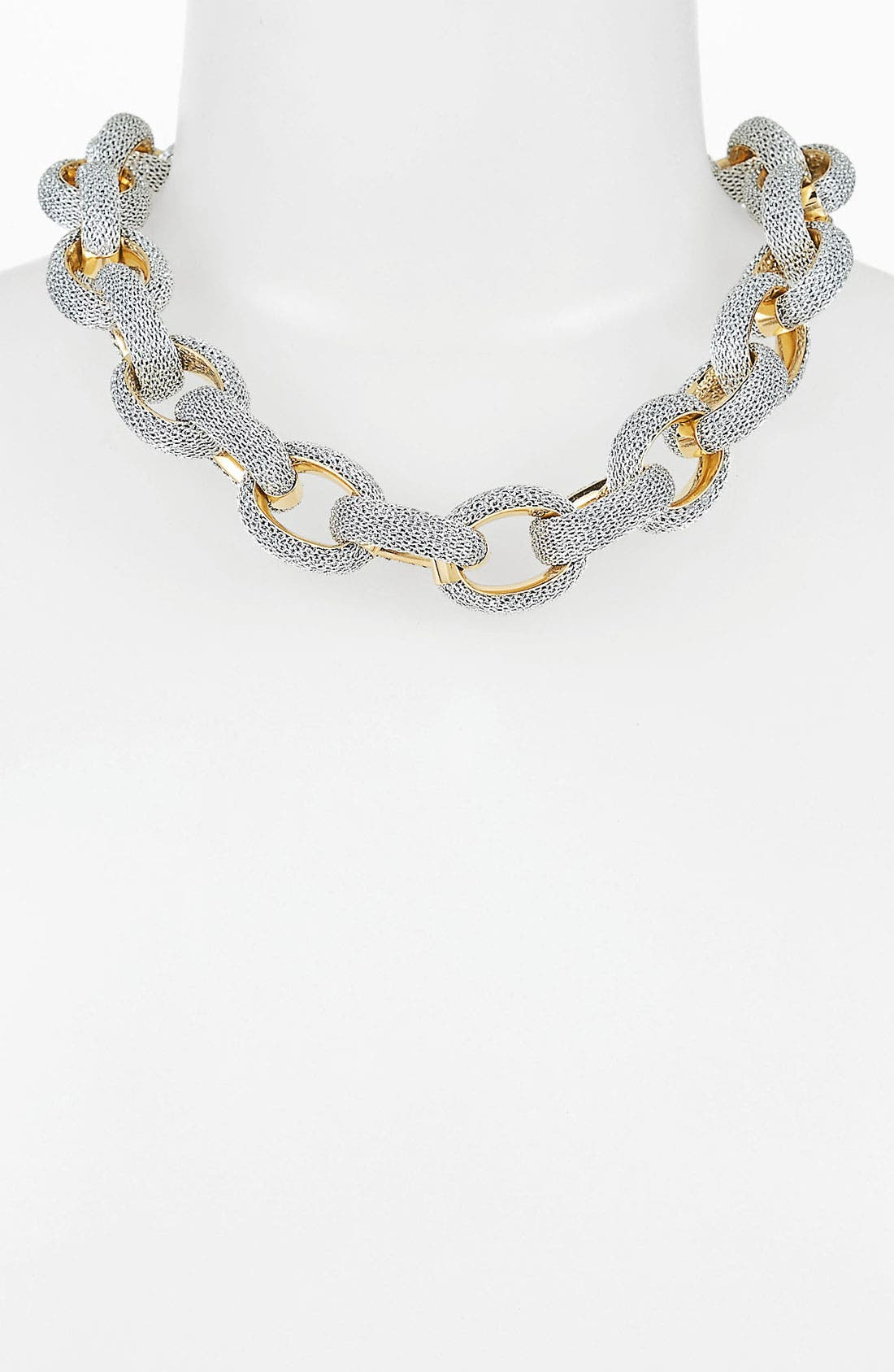 Alternate Image 1 Selected - Adami & Martucci 'Mesh' Link Collar Necklace (Nordstrom Exclusive)