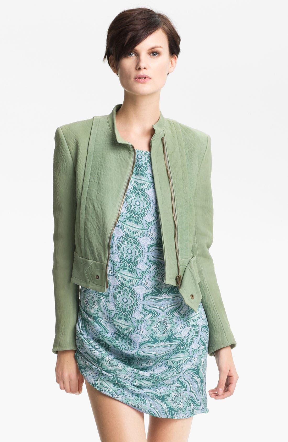 Alternate Image 2  - Kelly Wearstler 'Jasper' Lambskin Leather Jacket