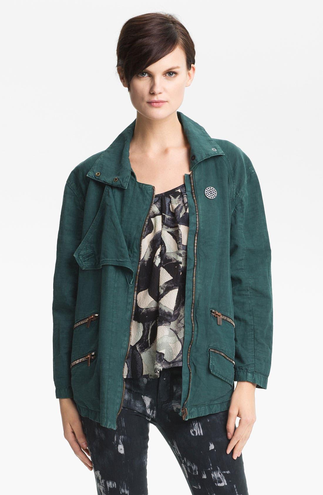 Alternate Image 2  - Kelly Wearstler 'Ornamented' Zip Detail Jacket