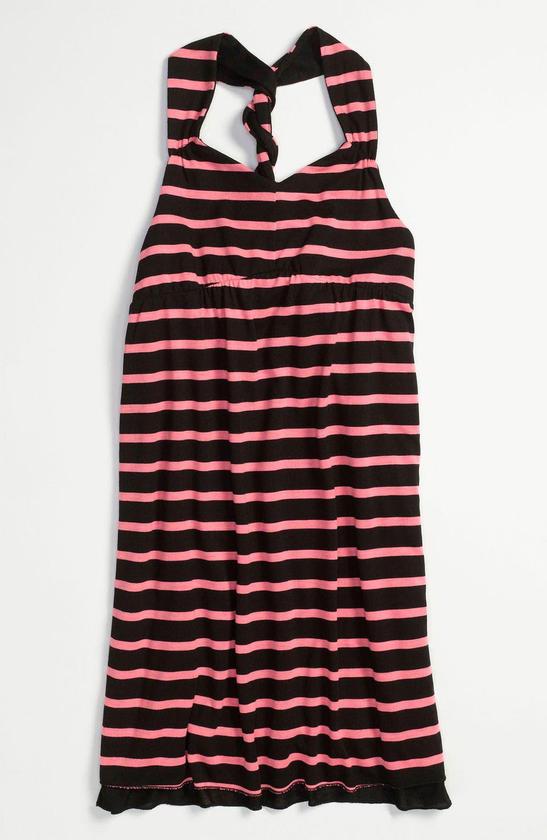 Main Image - Little Pretties Reversible Dress (Little Girls & Big Girls)