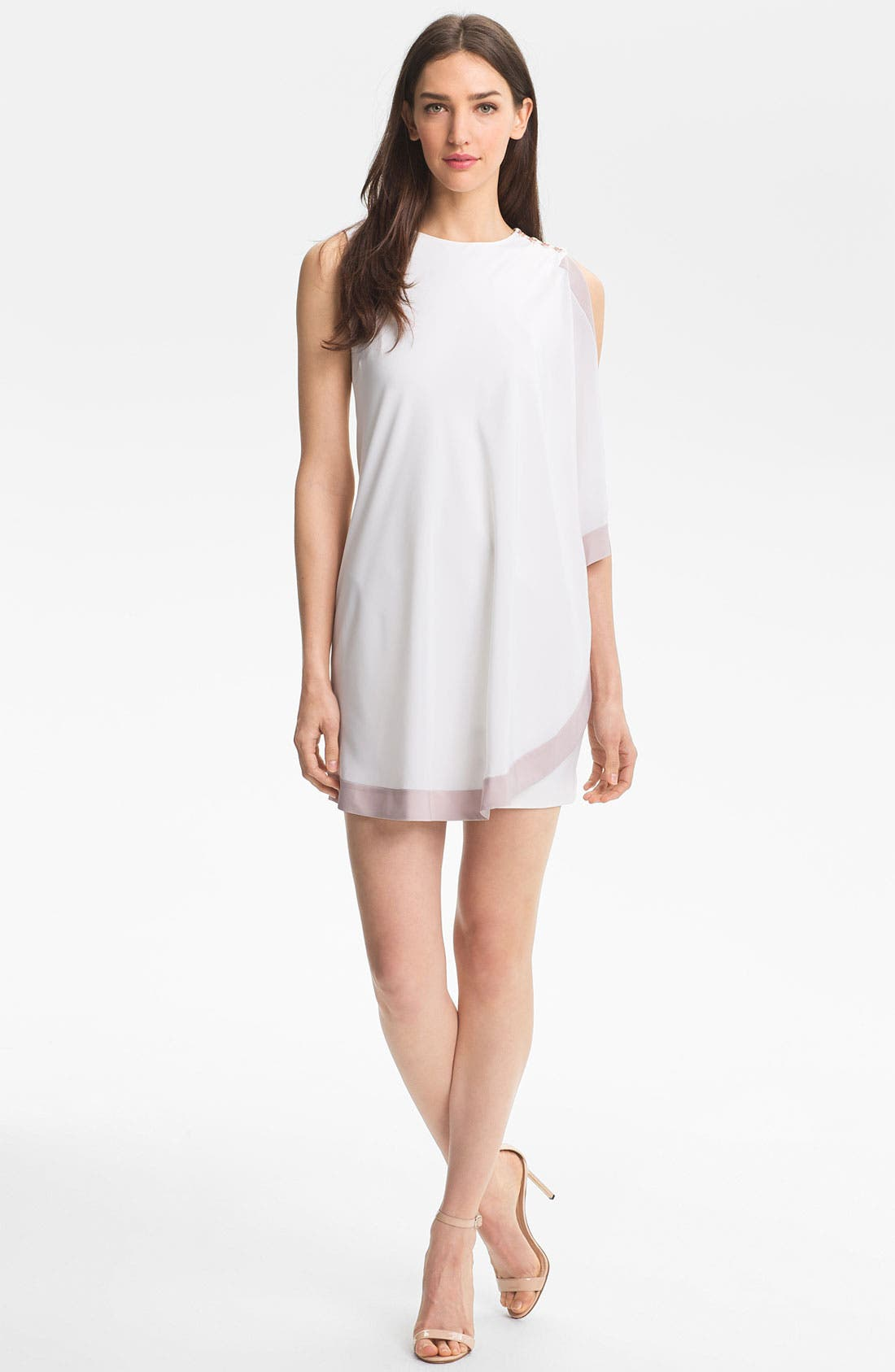 Main Image - Ted Baker London Cascade Tunic Dress (Online Only)