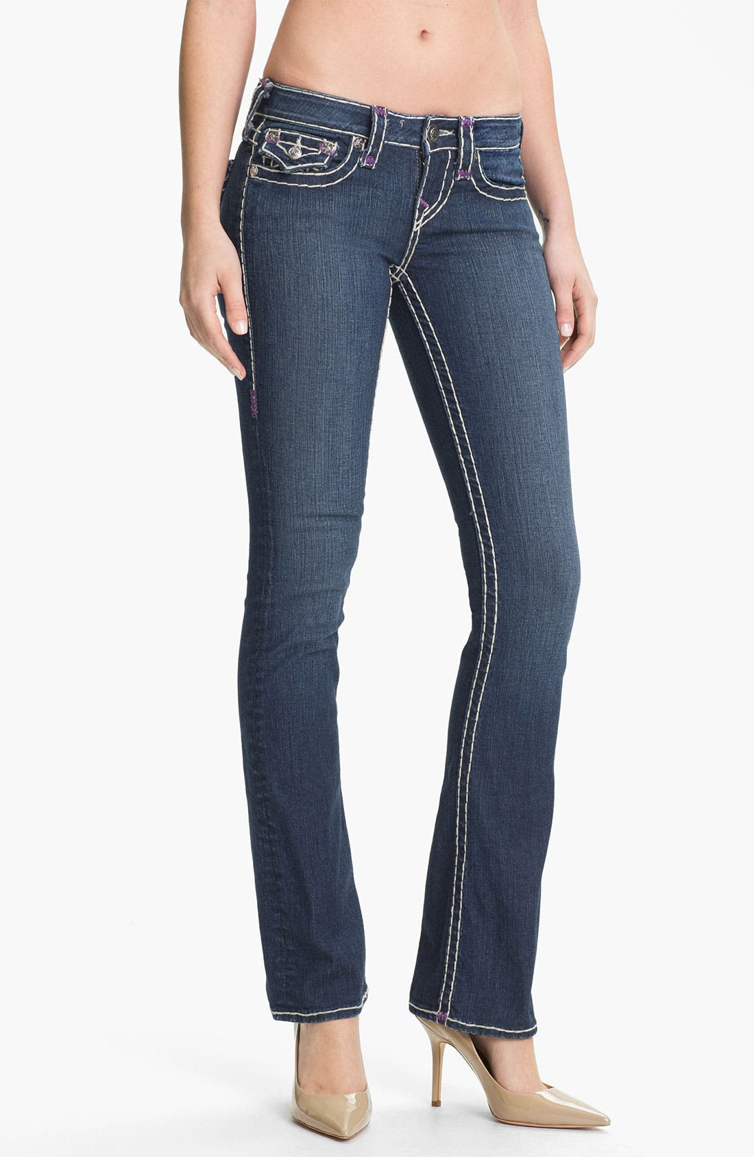 Alternate Image 1 Selected - True Religion Brand Jeans 'Becky' Bootcut Jeans (Memphis)