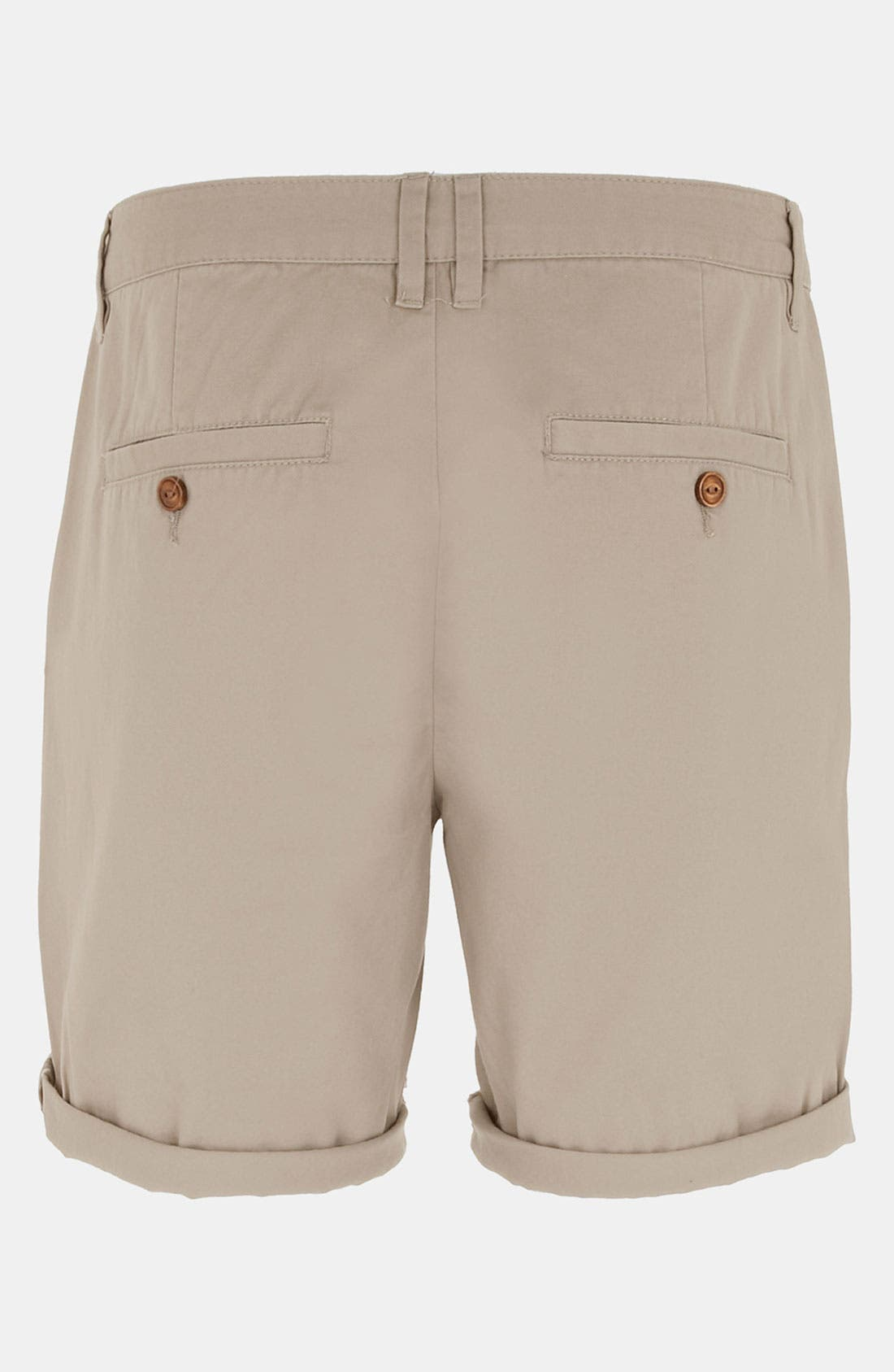 Alternate Image 2  - Topman Cotton Shorts