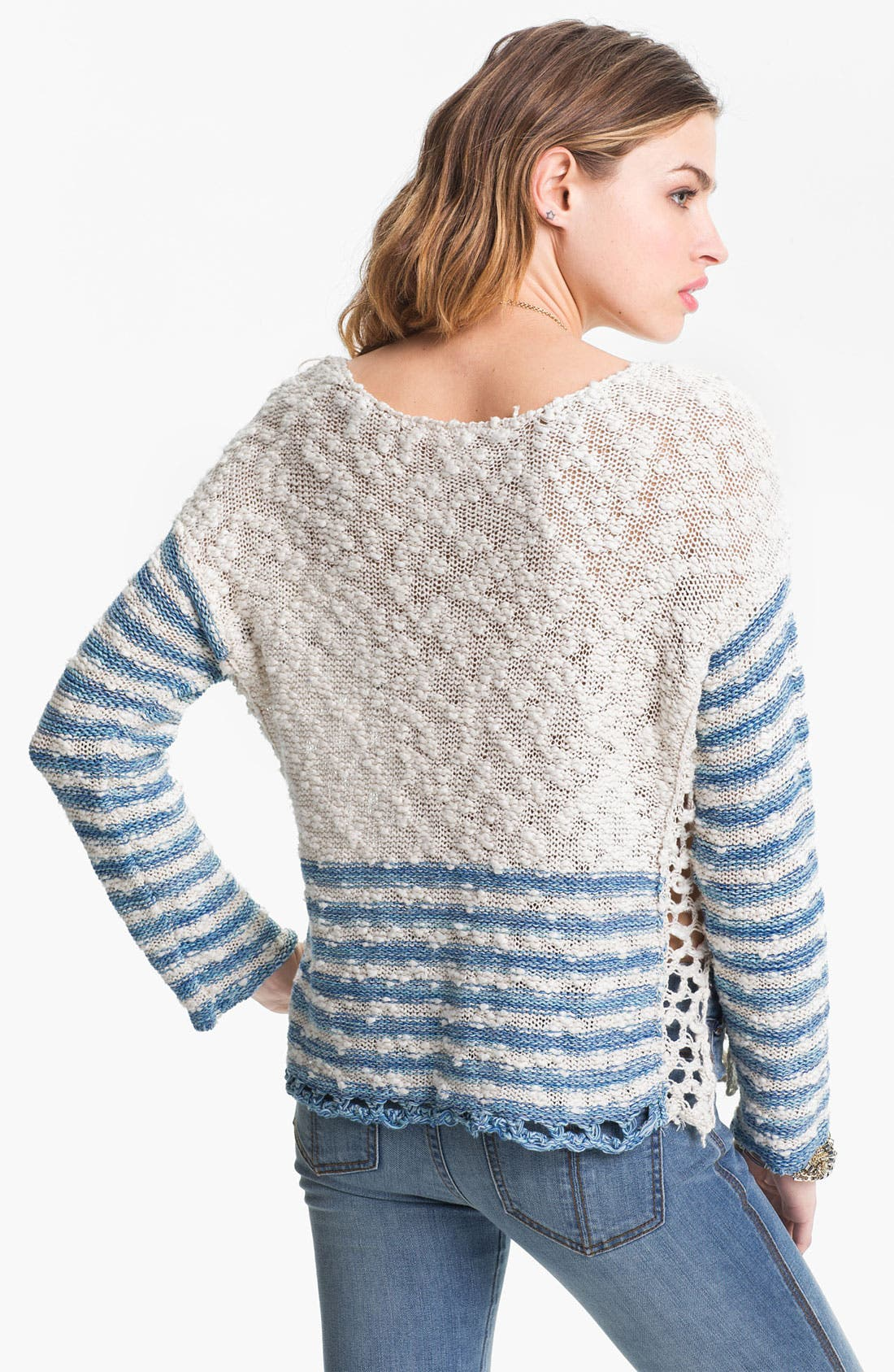 Alternate Image 2  - Free People 'French Creek' Slub Cotton Sweater