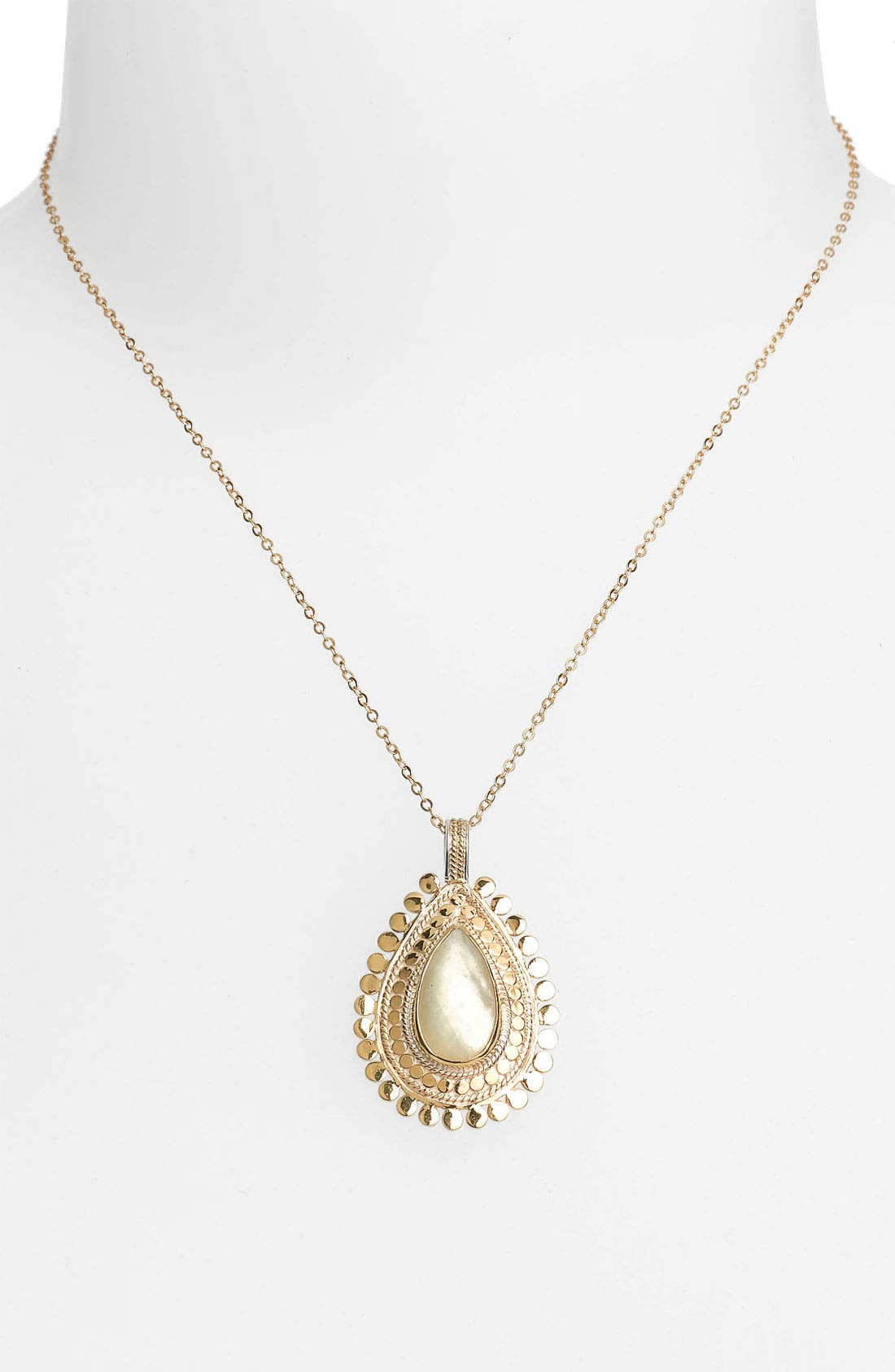 Alternate Image 1 Selected - Anna Beck 'Flores Citrine' Pendant Necklace