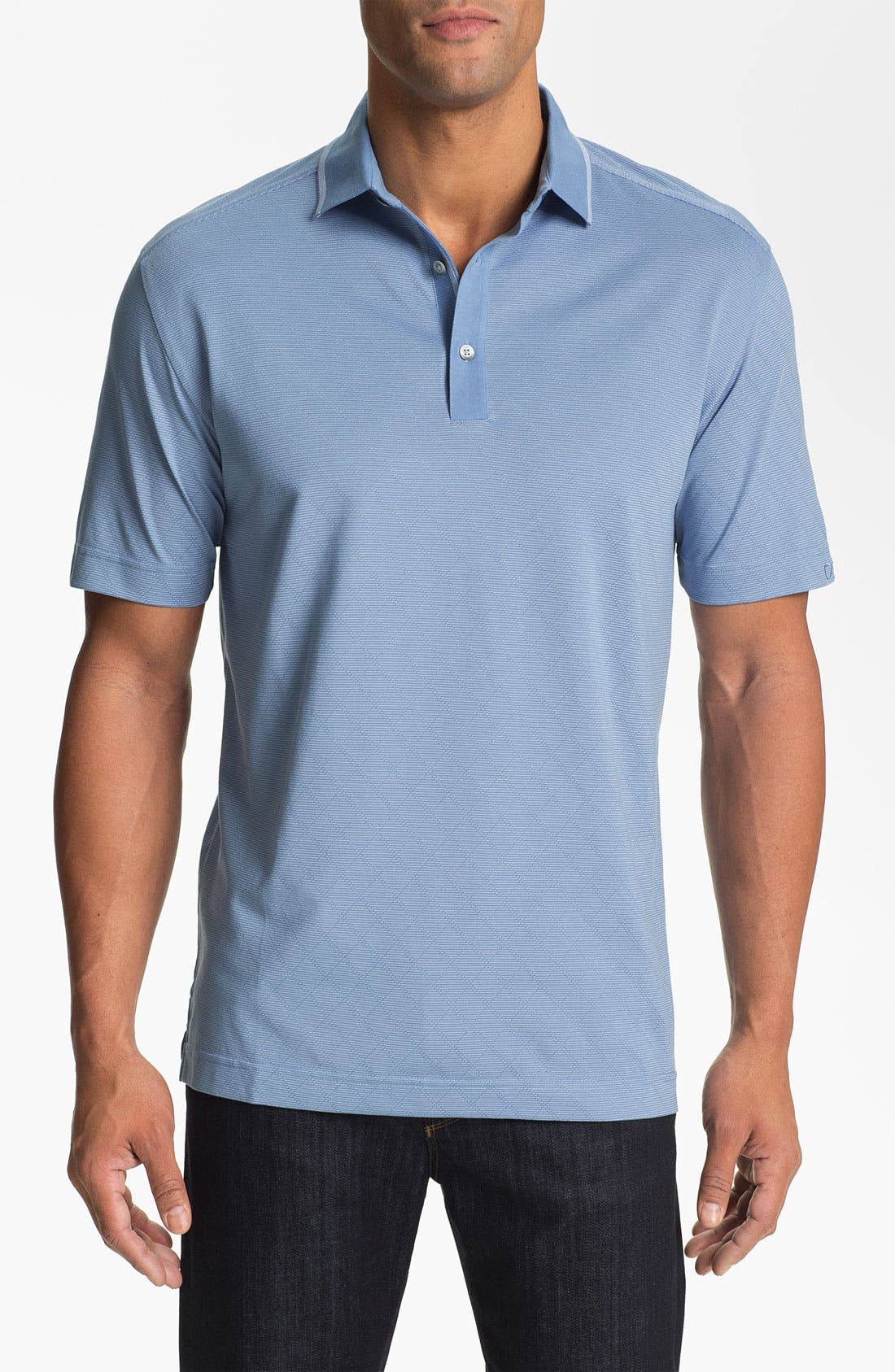 Alternate Image 1 Selected - Cutter & Buck 'Luxe - Embry' DryTec Golf Polo (Big & Tall)