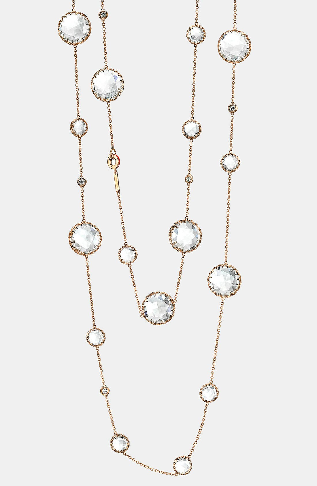 Main Image - Ivanka Trump Long Diamond & Rock Crystal Chain Necklace