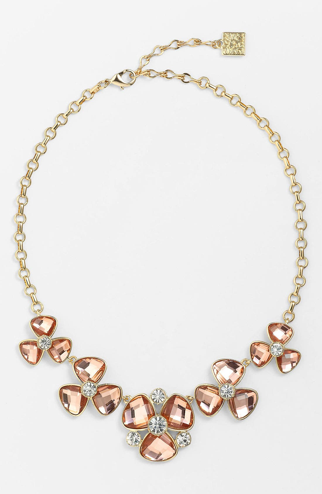 Alternate Image 1 Selected - Anne Klein Floral Collar Necklace