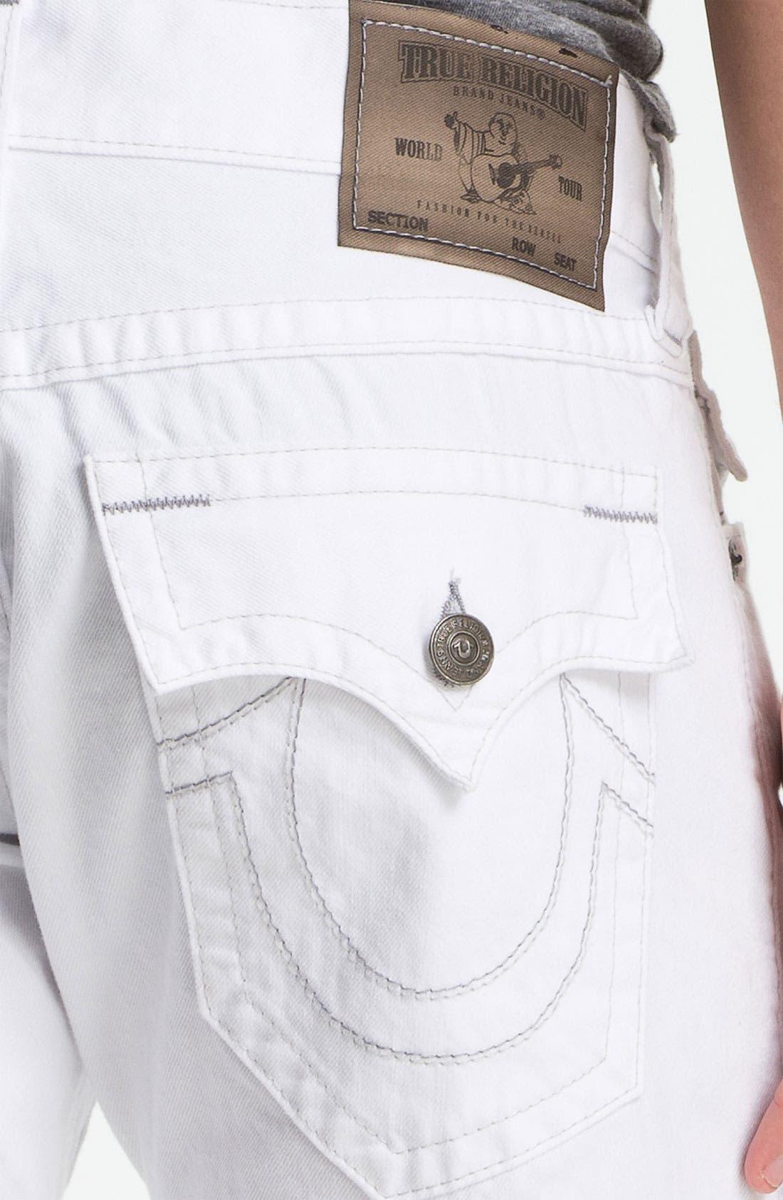 Alternate Image 3  - True Religion Brand Jeans 'Ricky' Cutoff Denim Shorts