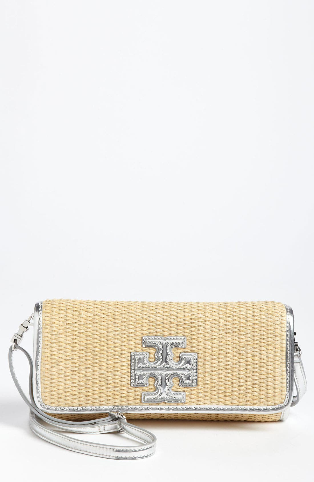 Main Image - Tory Burch 'Stacked T' Clutch