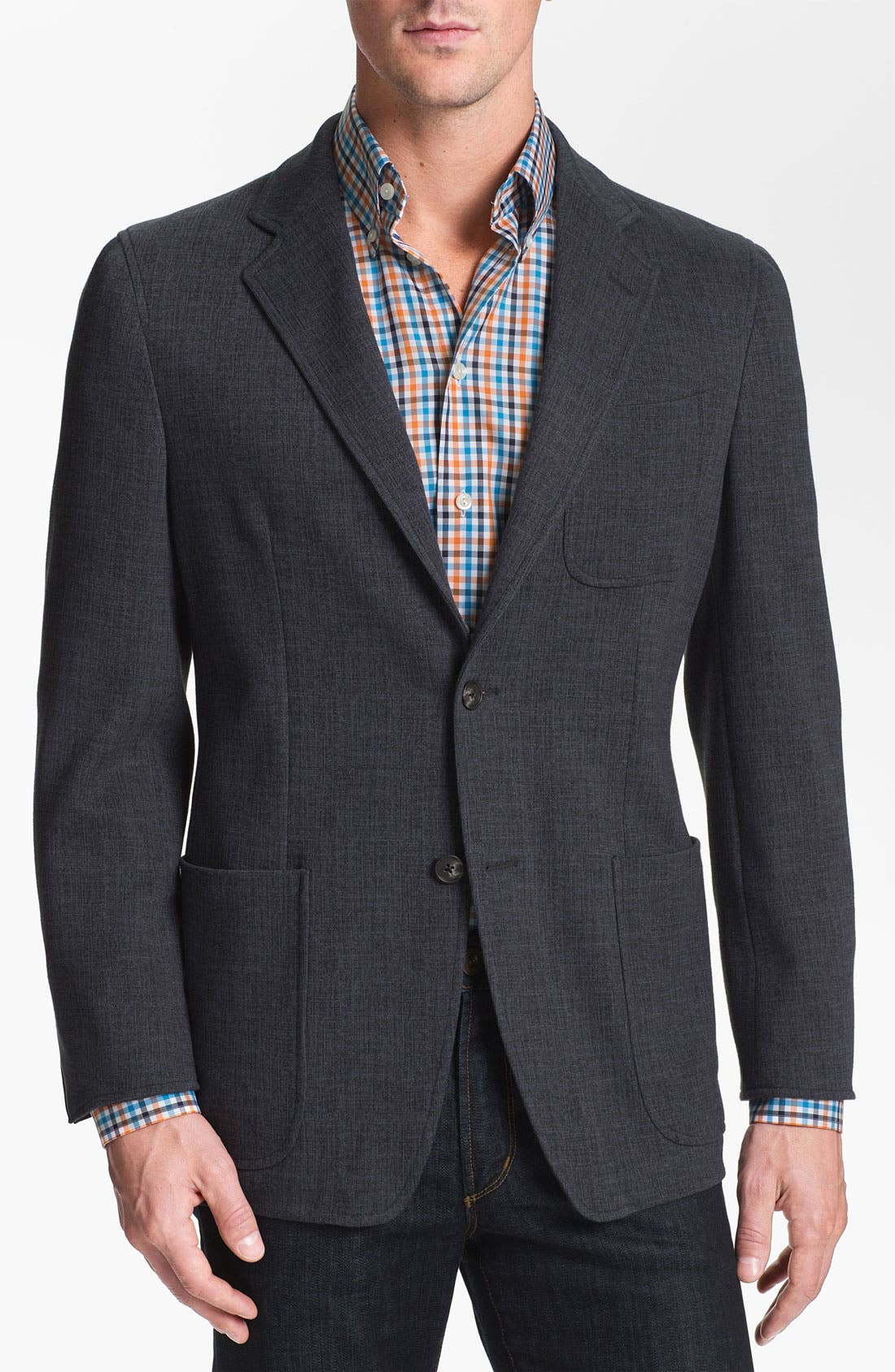 Alternate Image 1 Selected - Joseph Abboud Cotton Blend Blazer
