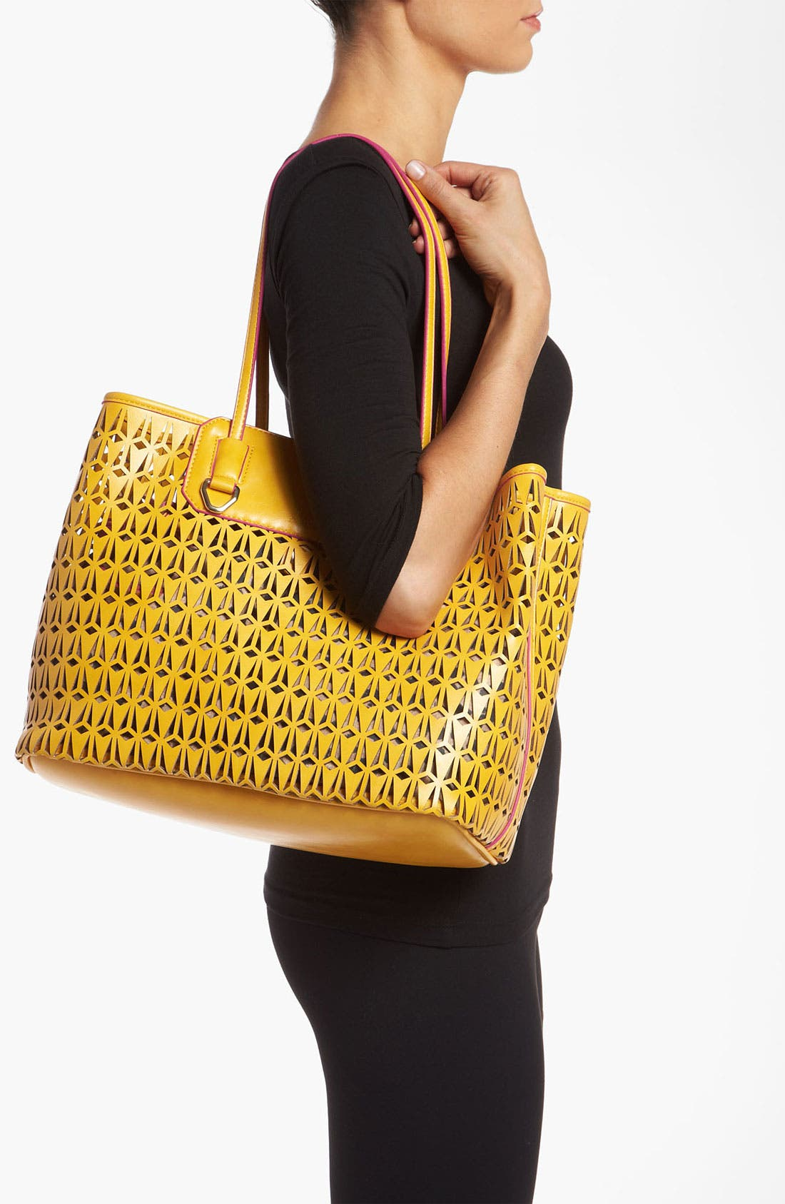 Alternate Image 2  - Sam Edelman 'Marina' Perforated Tote