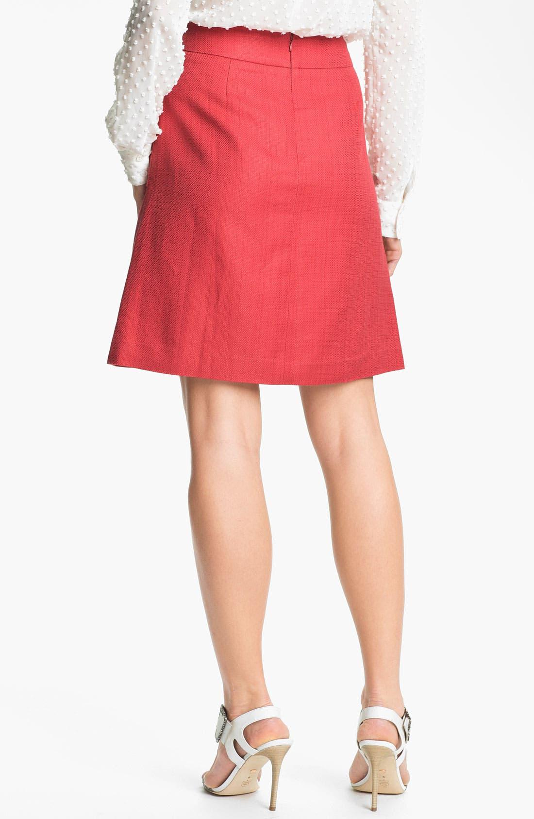 Alternate Image 2  - Halogen® Patch Pocket A-Line Skirt