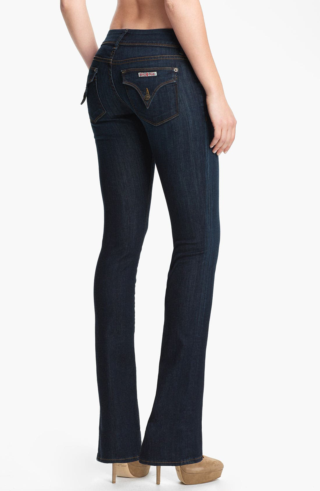 Alternate Image 2  - Hudson Jeans 'Beth' Baby Bootcut Jeans (Rhea)