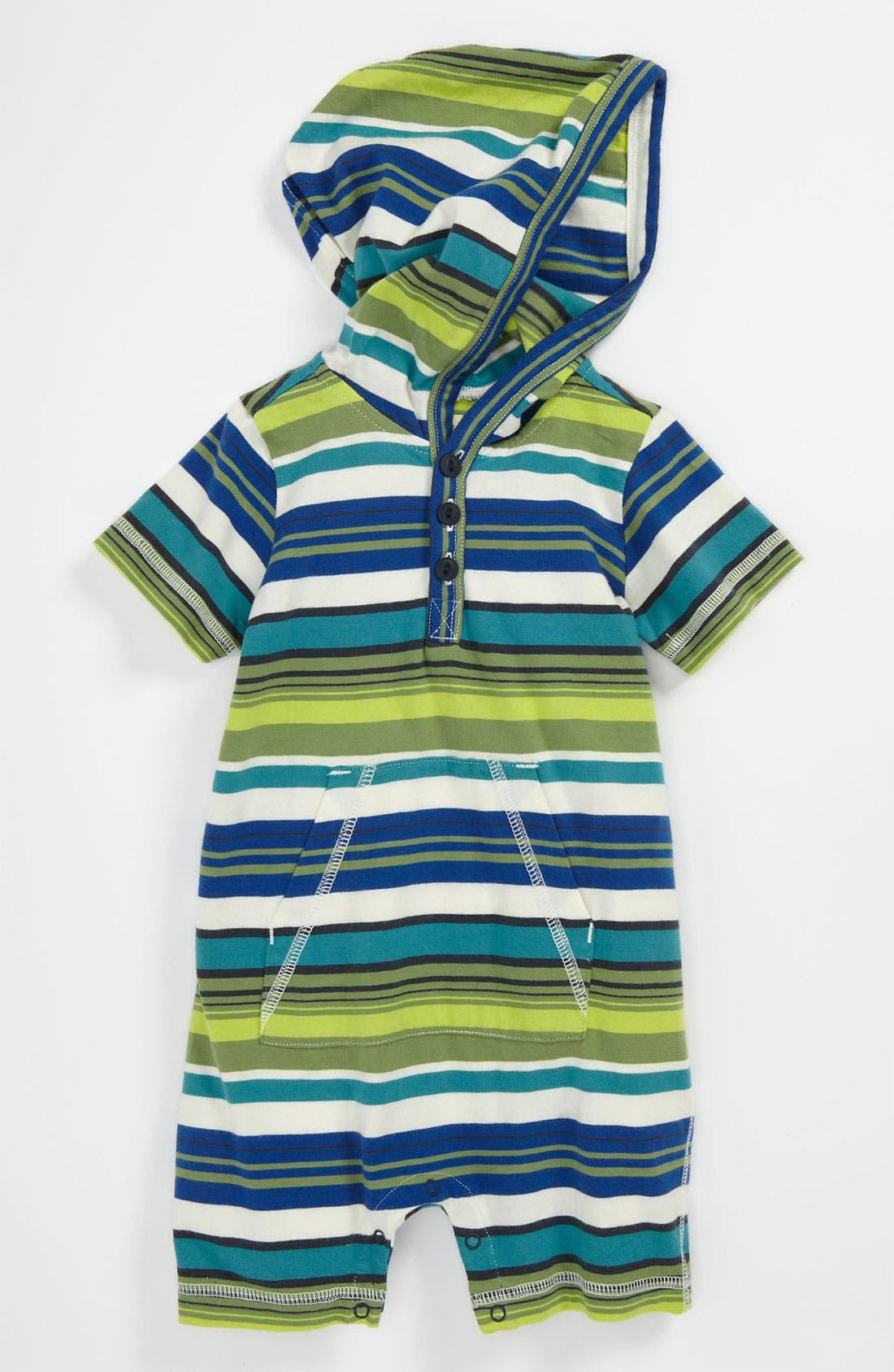 Main Image - Tea Collection 'Zola' Stripe Romper (Infant)