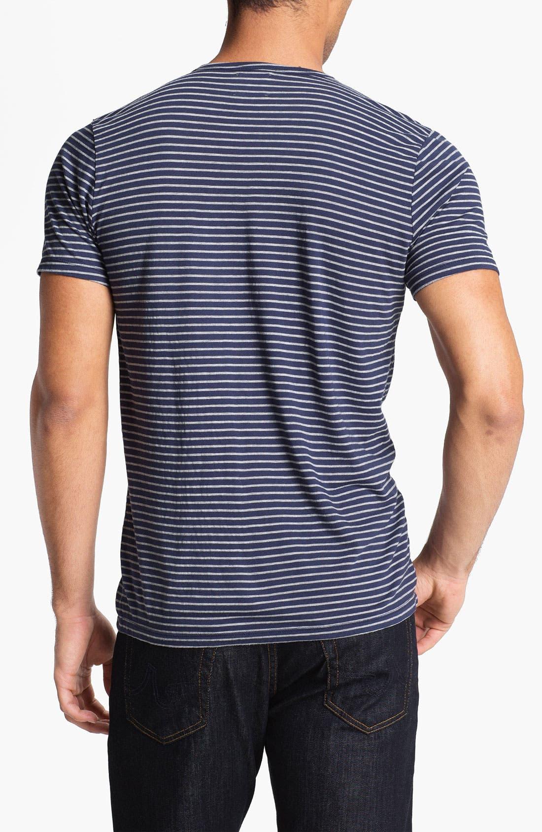Alternate Image 2  - AG Jeans Stripe T-Shirt