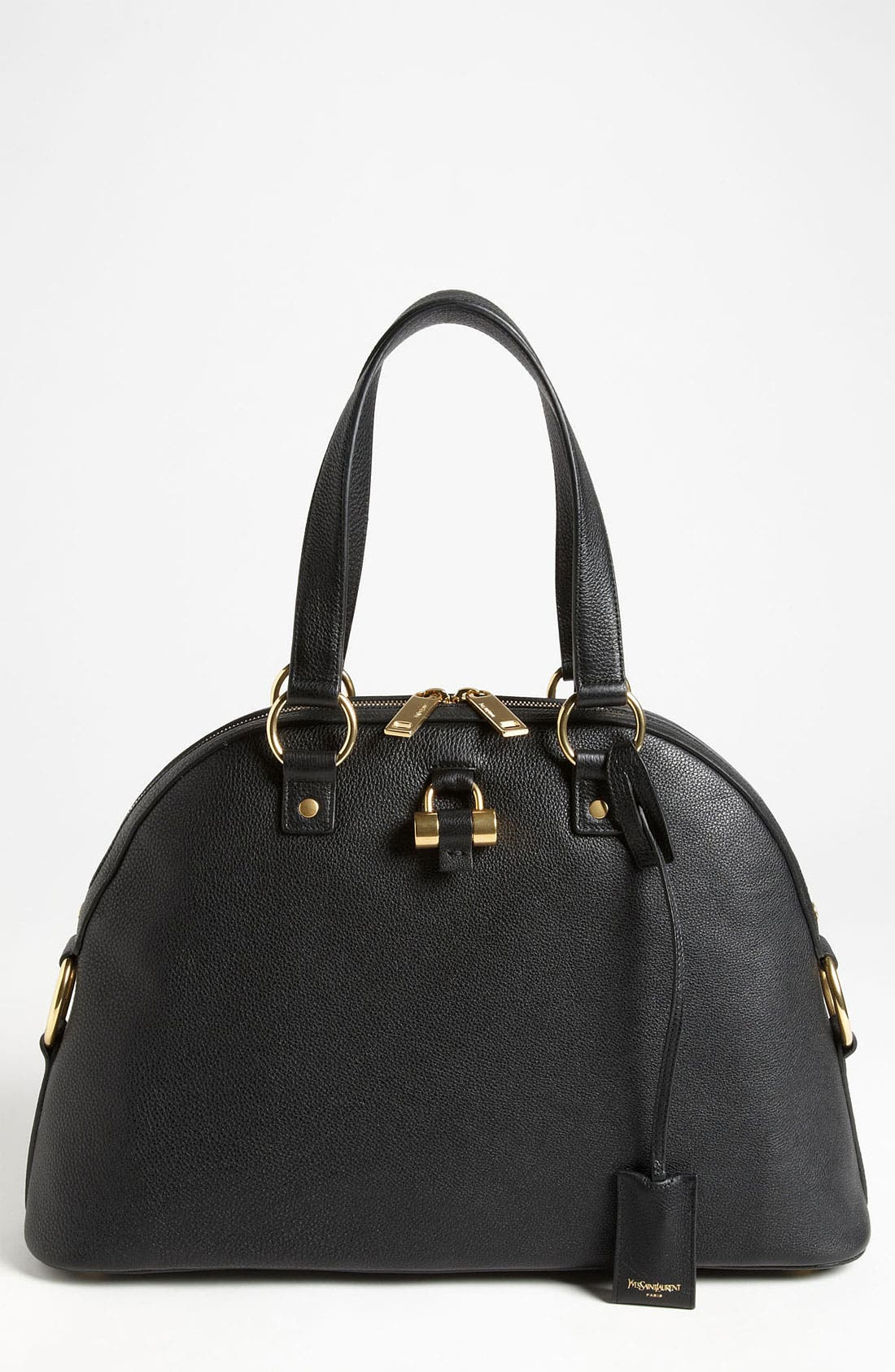 Alternate Image 1 Selected - Saint Laurent 'Muse - Medium' Leather Dome Satchel