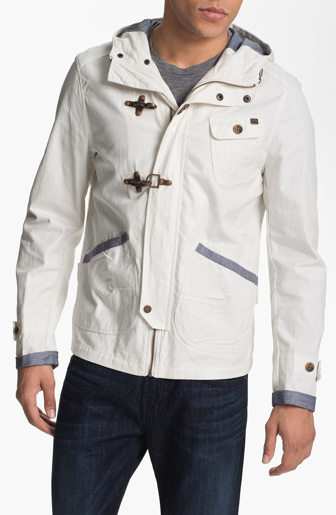 Alternate Image 1 Selected - Antony Morato Hooded Jacket