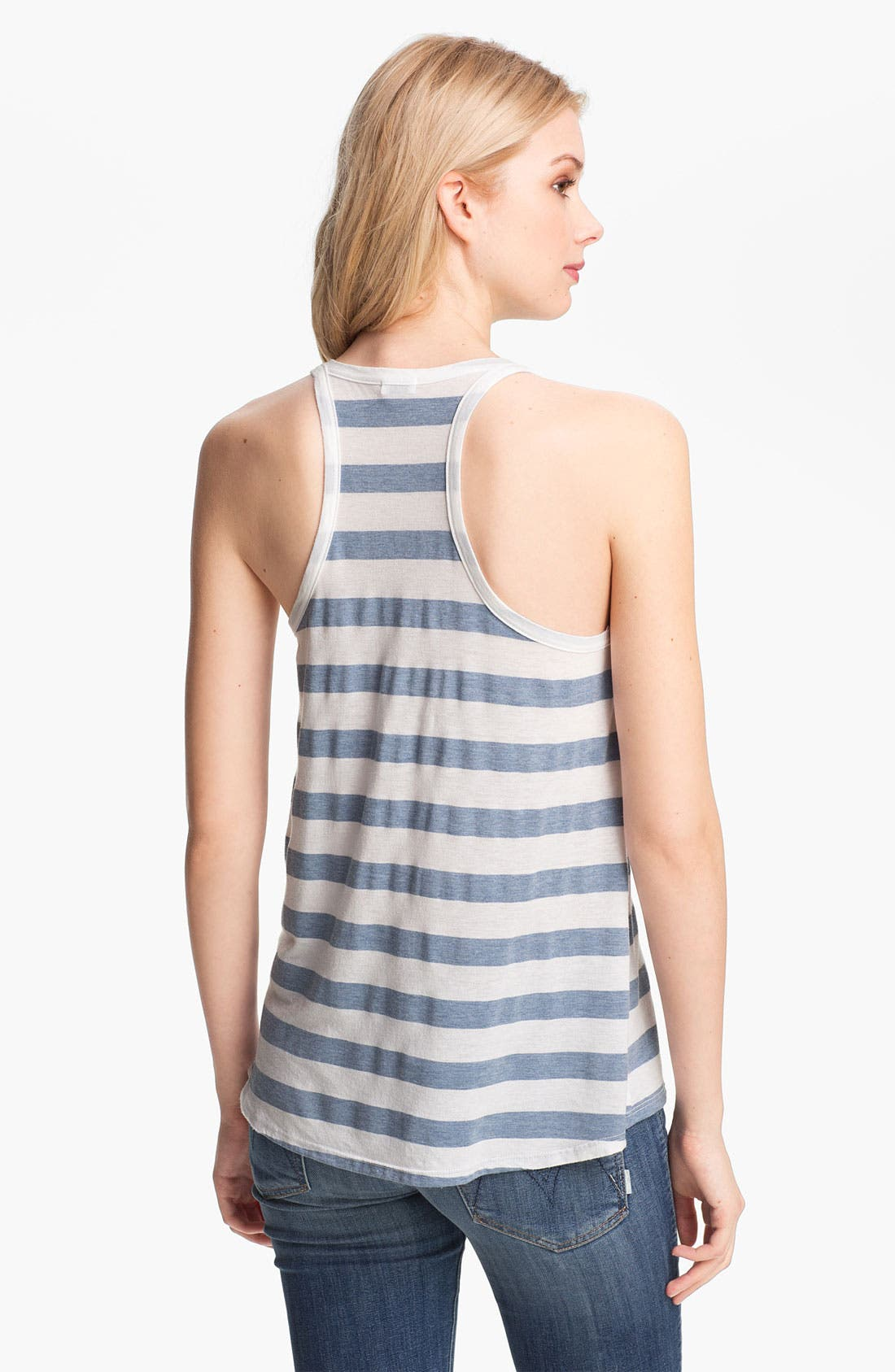 Alternate Image 2  - Splendid 'Marseille' Stripe Henley Tank