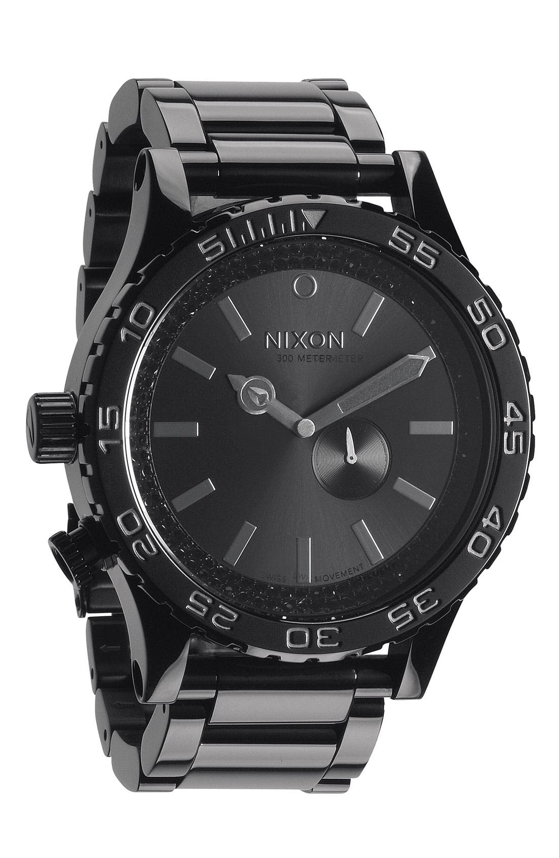 Main Image - Nixon 'The 51-30' Bracelet Watch, 51mm
