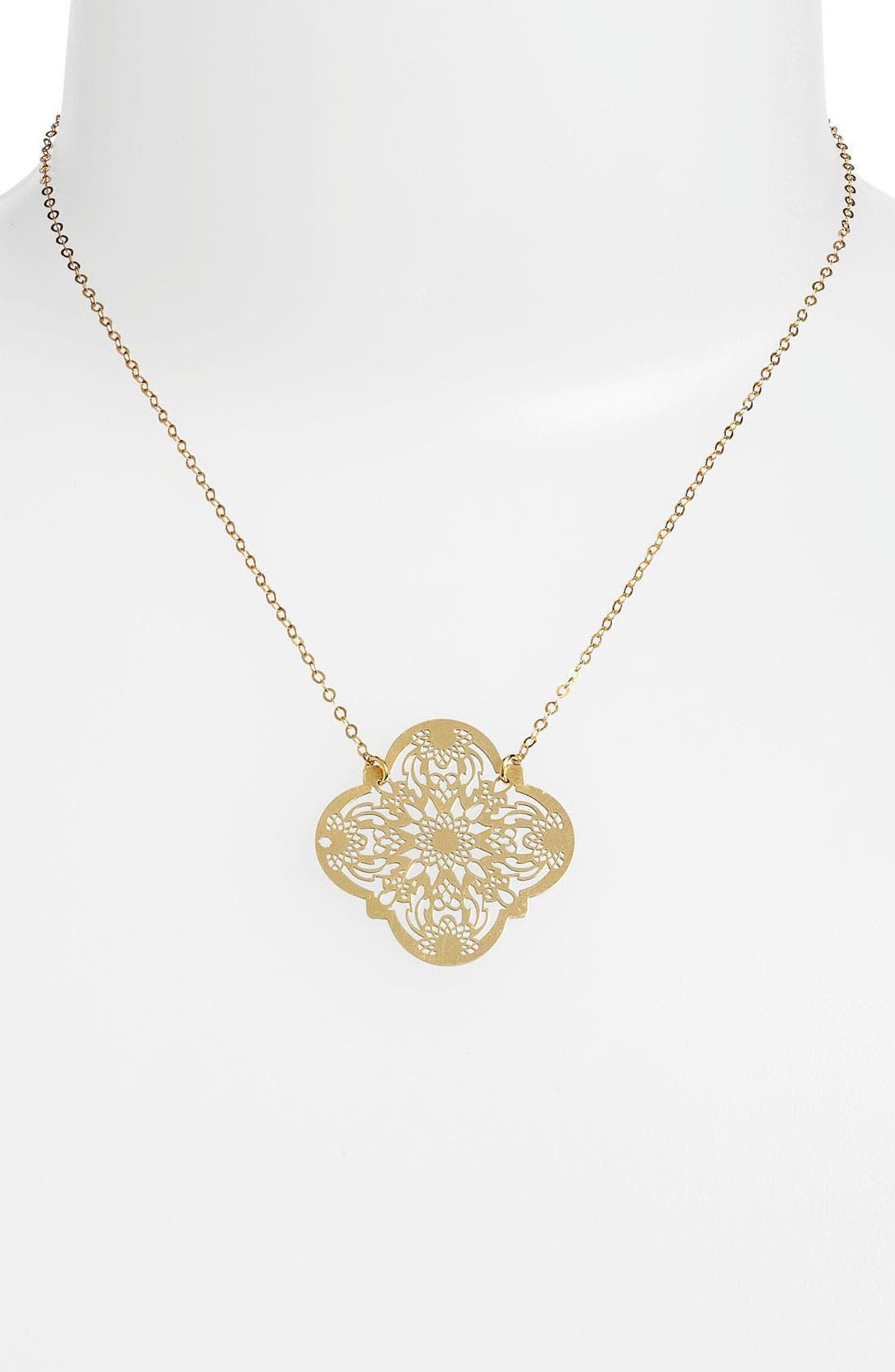 Main Image - Argento Vivo Pendant Necklace (Online Only)