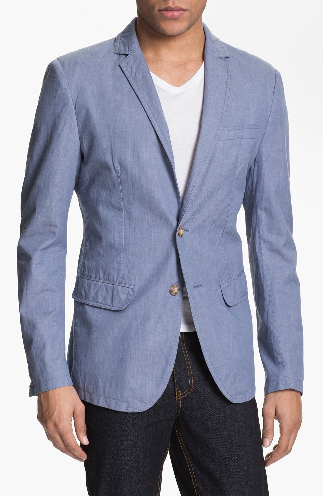 Alternate Image 1 Selected - Antony Morato 'Duchessa' Cotton Blazer