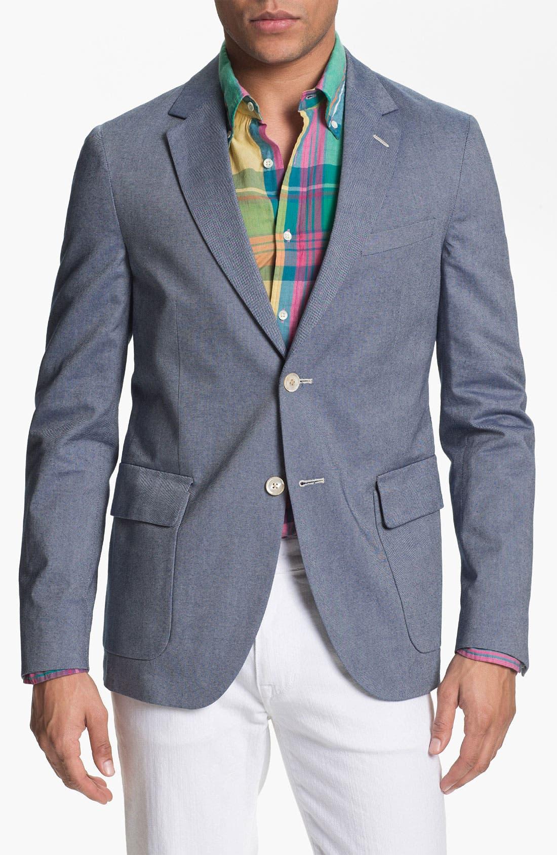 Alternate Image 1 Selected - Gant Rugger Oxford Blazer