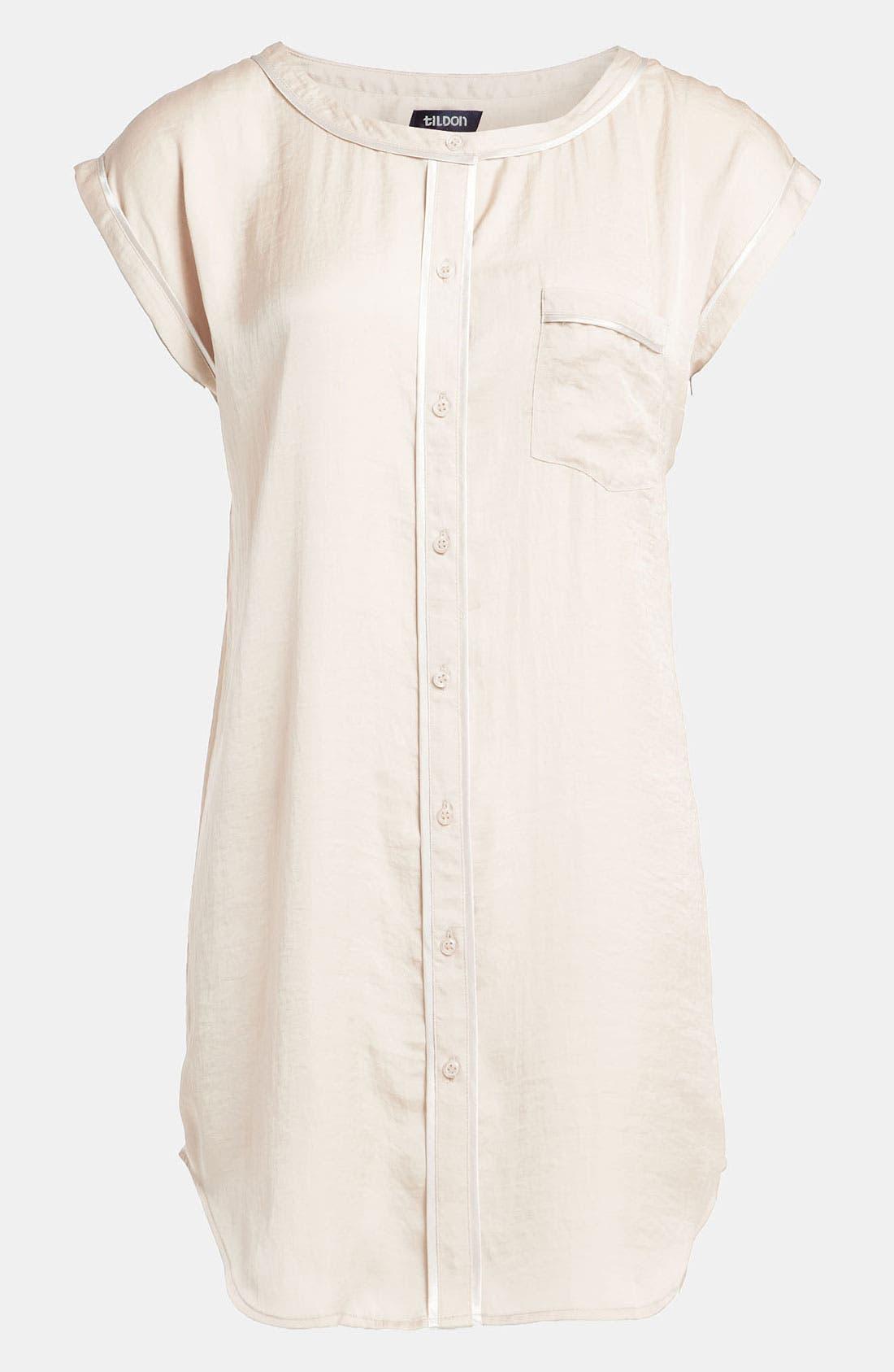 Main Image - Tildon 'Pajama' Tunic Top