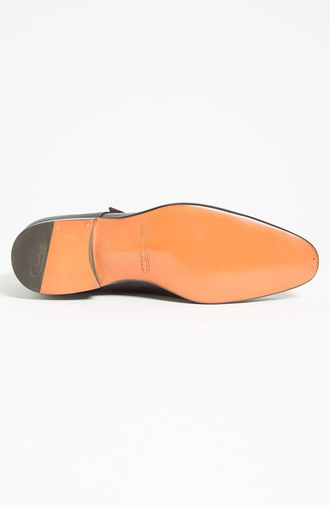 Alternate Image 4  - Santoni 'Truman' Double Monk Strap Slip-On