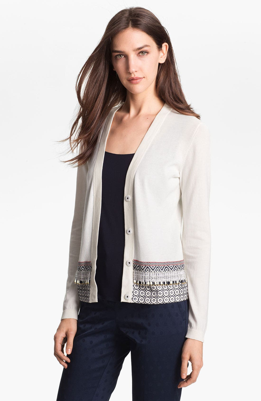 Alternate Image 1 Selected - Tory Burch 'Stephanie' Cardigan