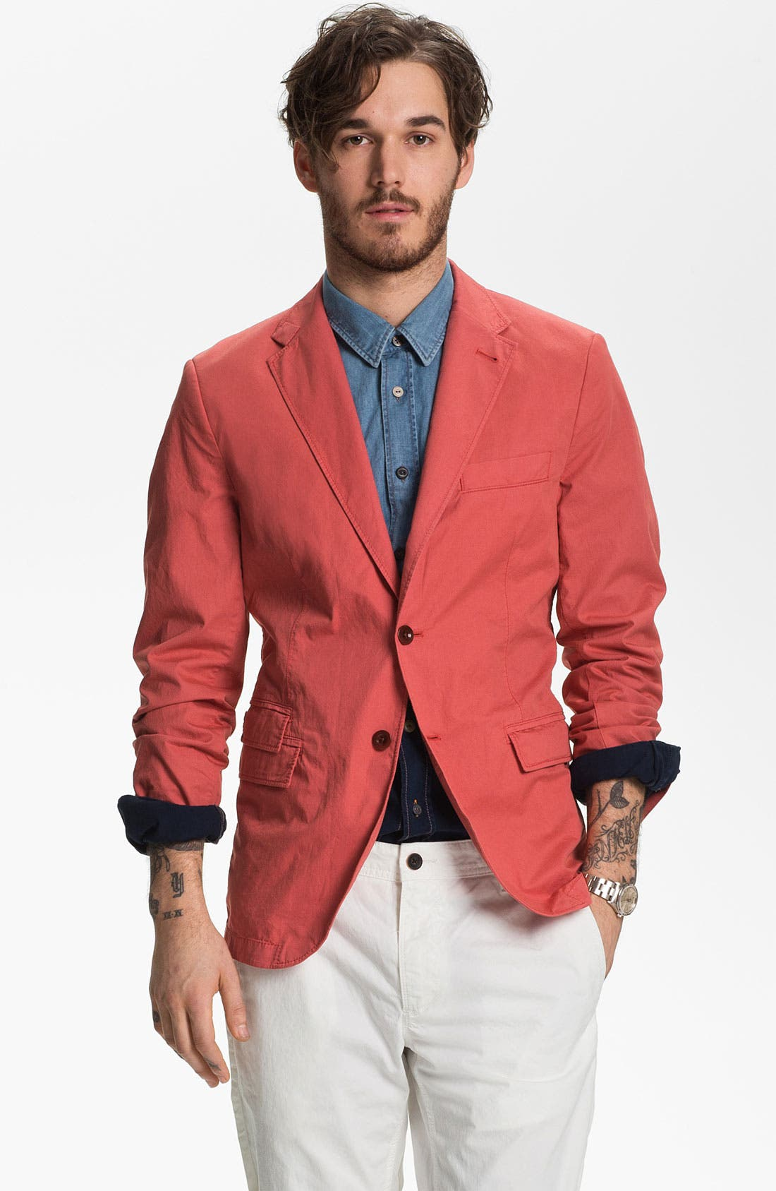 Alternate Image 1 Selected - BOSS Orange 'Benne' Sportcoat