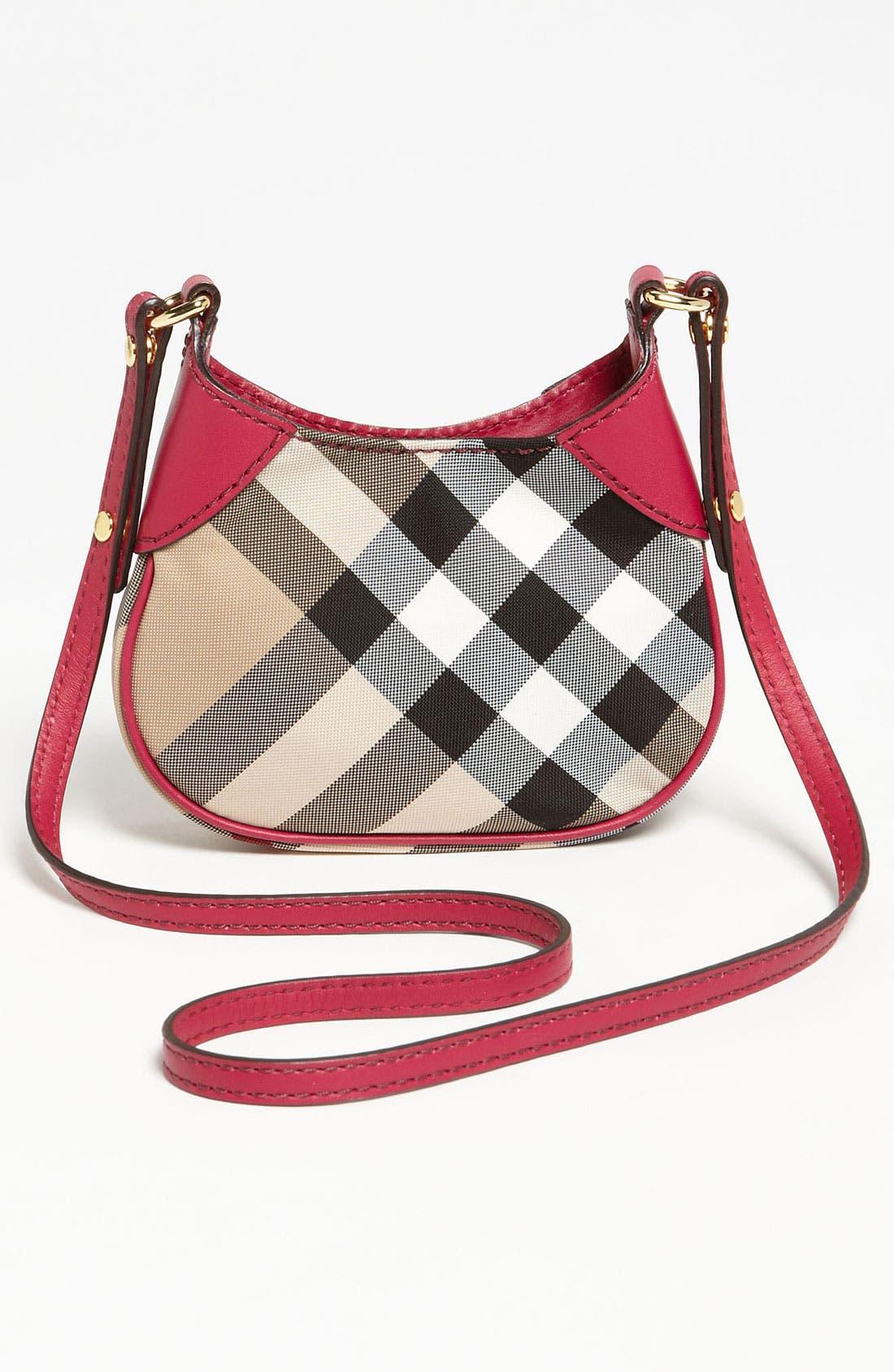 Alternate Image 4  - Burberry 'Ruby' Mini Shoulder Bag (Girls)
