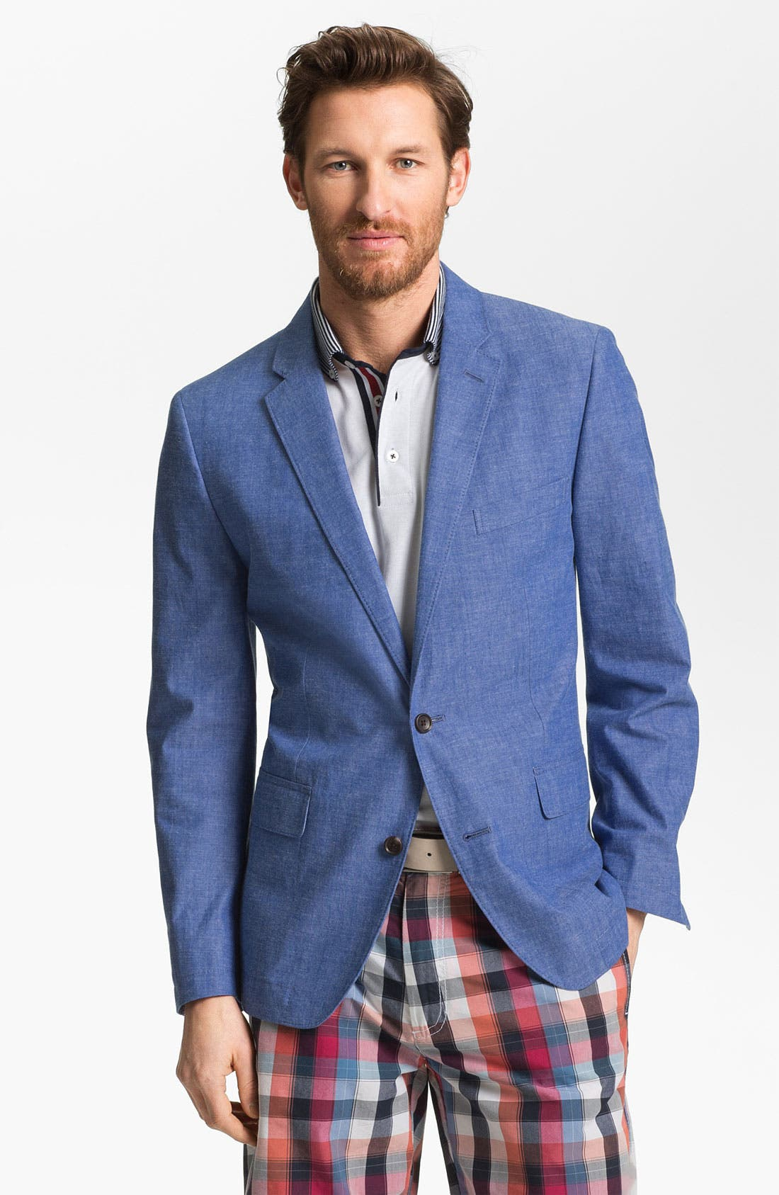 Alternate Image 1 Selected - Bonobos Chambray Blazer