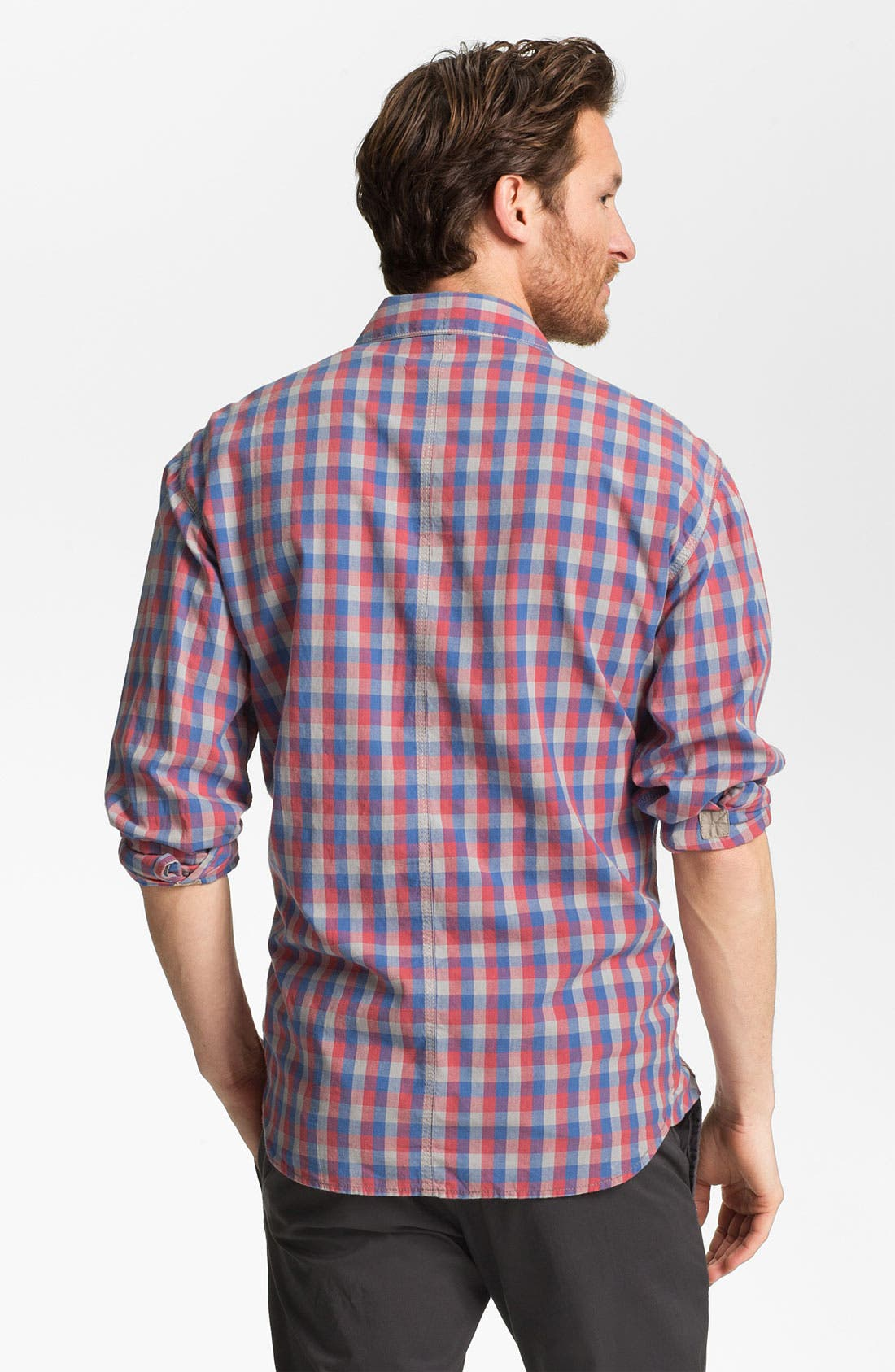 Alternate Image 2  - French Connection Slim Fit Sport Shirt (Online Only)