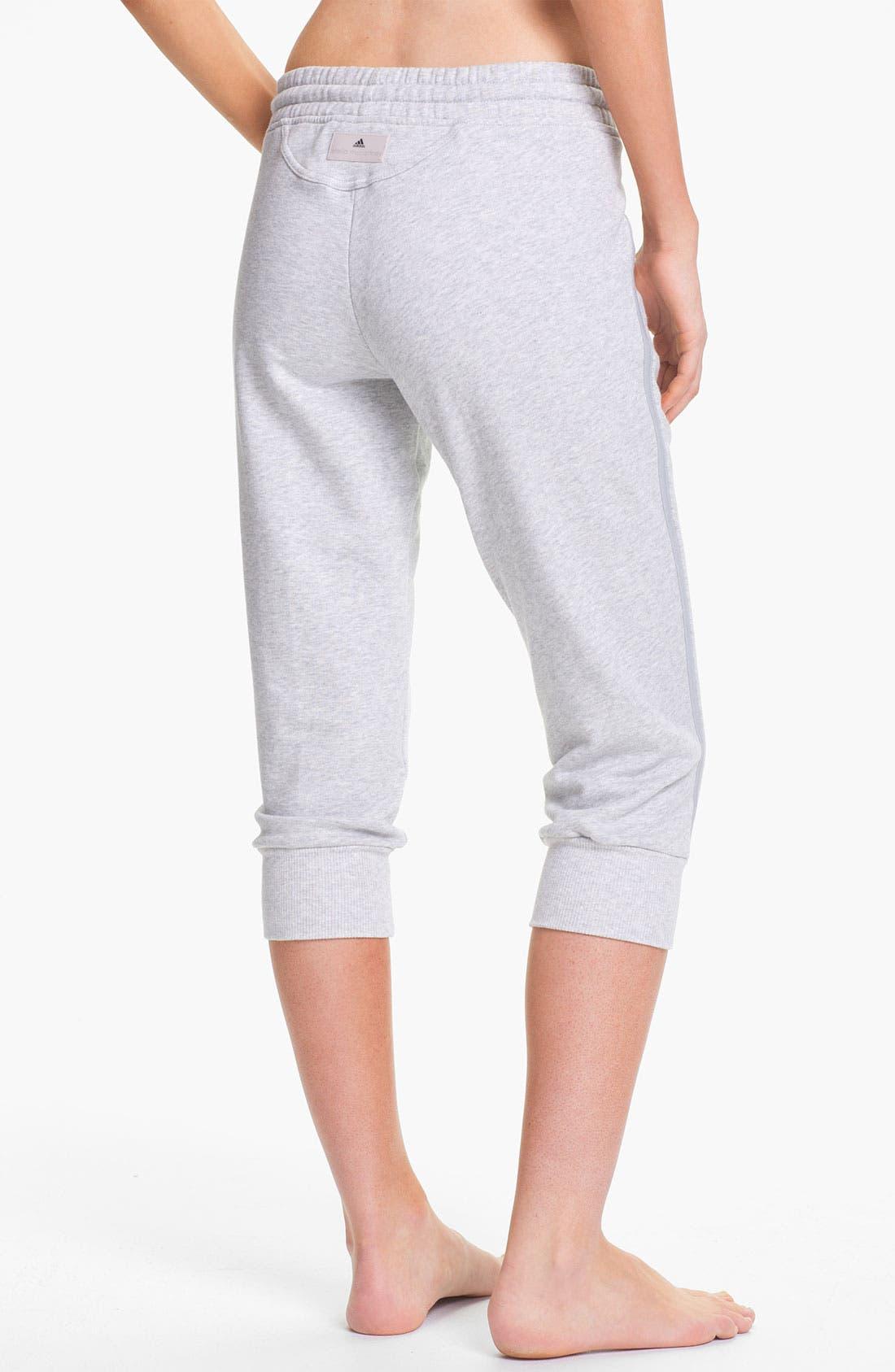 Alternate Image 2  - adidas by Stella McCartney 'Essentials' Three-Quarter Sweatpants